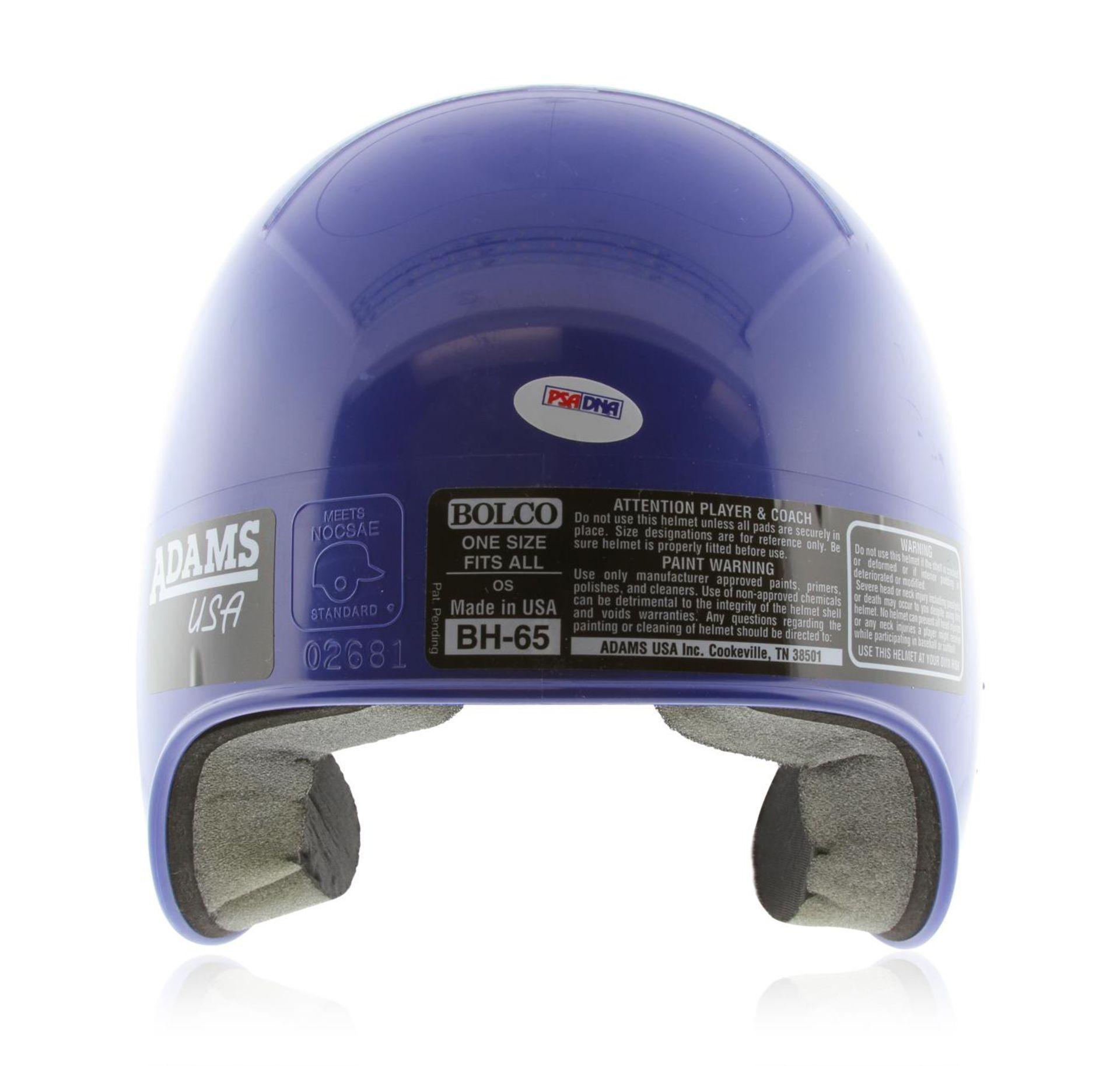 Autographed Duke Snider LA Dodgers Helmet PSA Certified - Image 3 of 4