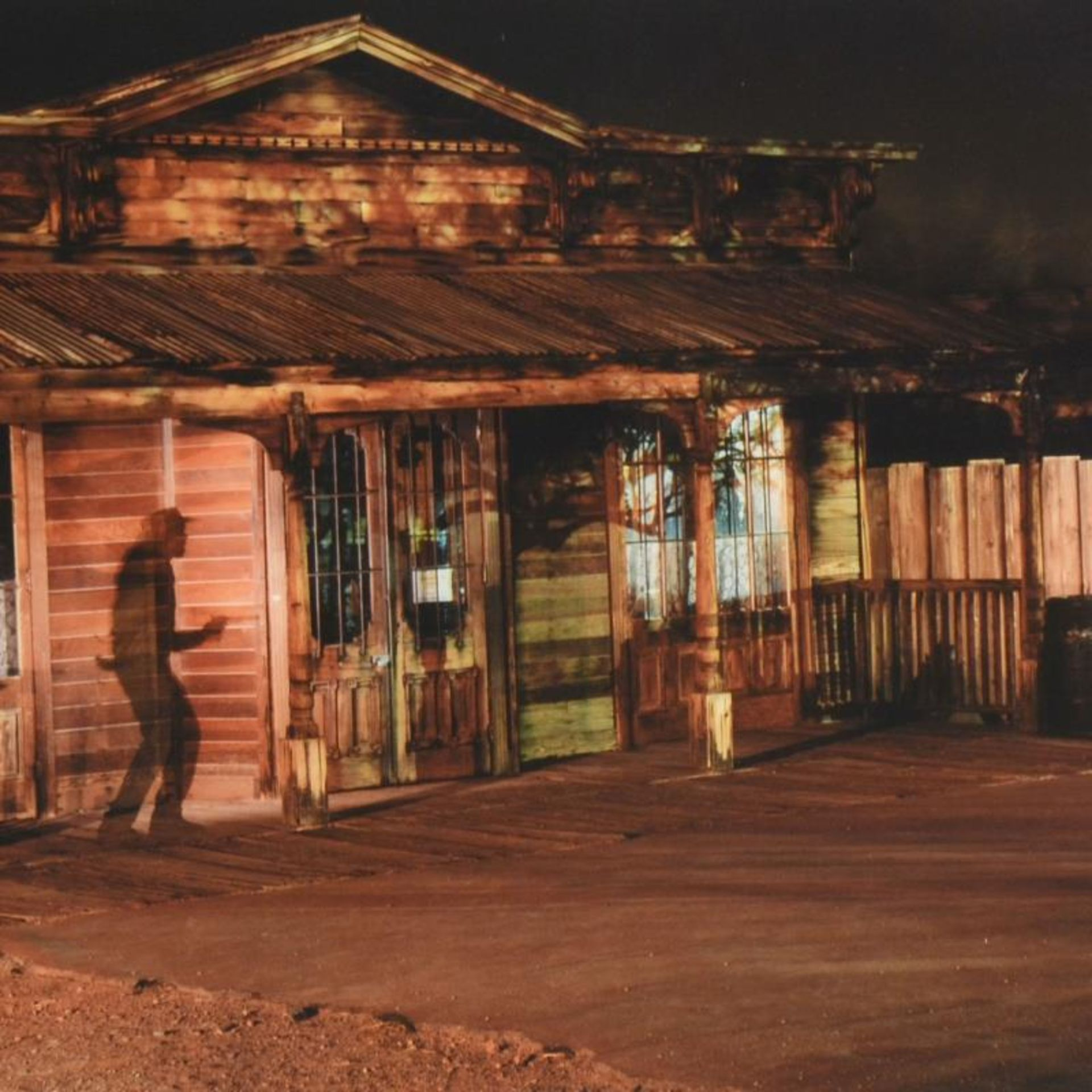 "Robert Sheer, ""Calico Ghost Town Gunfight"" Limited Edition Single Exposure Photo - Image 2 of 2"