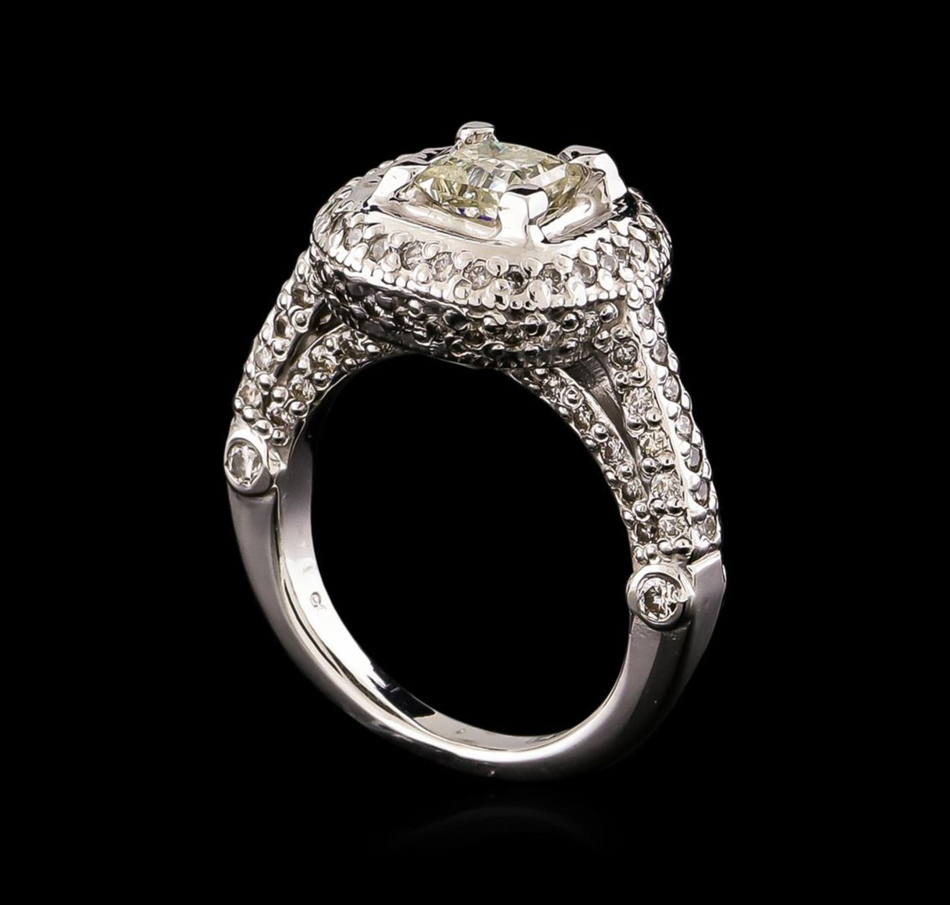 14KT White Gold 1.78 ctw Diamond Ring - Image 4 of 5