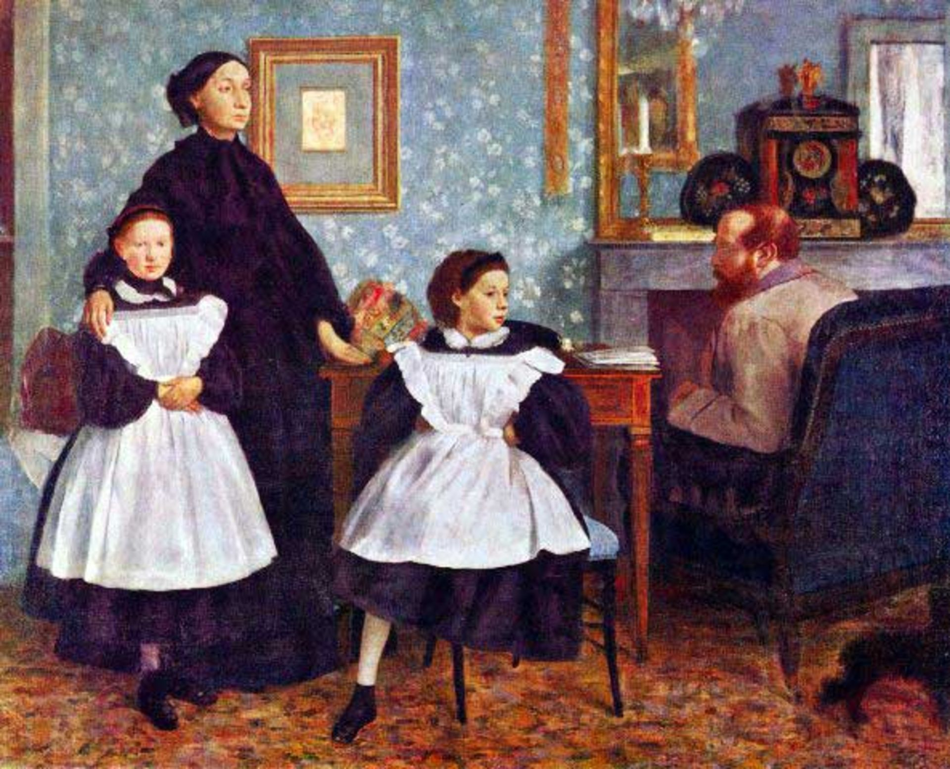 Edgar Degas - Portait Of The Bellelli Family