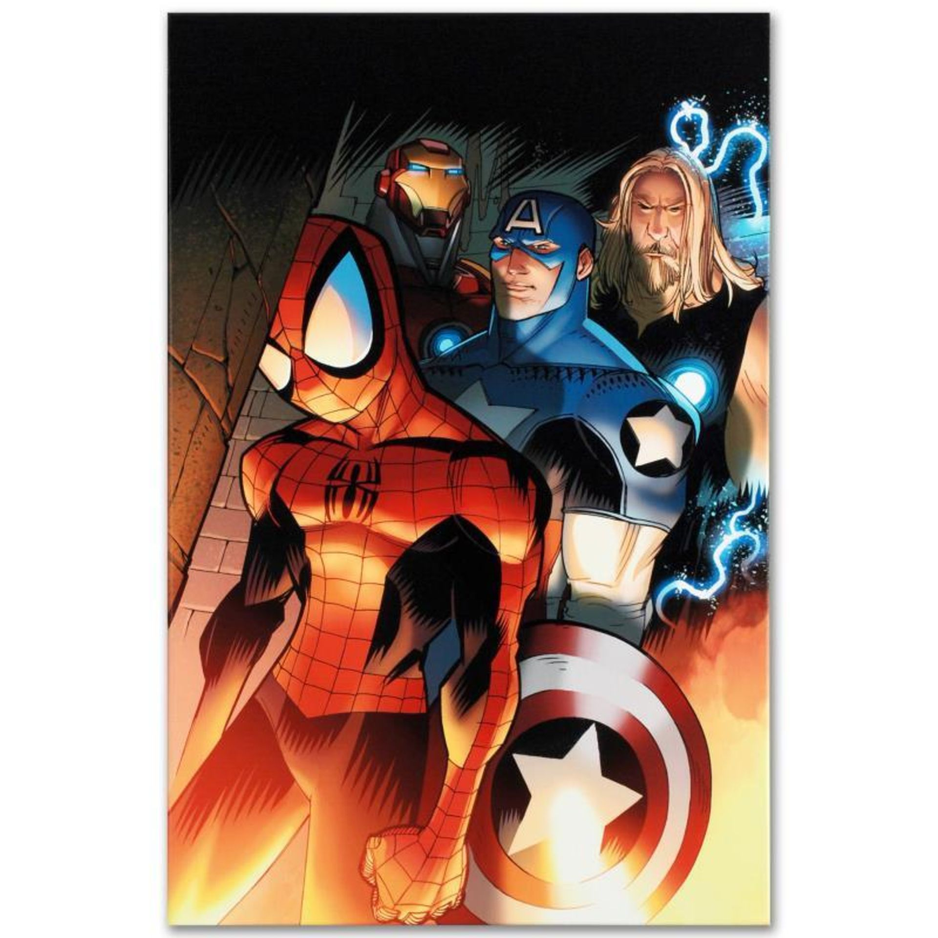 "Marvel Comics ""Ultimate Spider-Man #151"" Numbered Limited Edition Giclee on Canv"