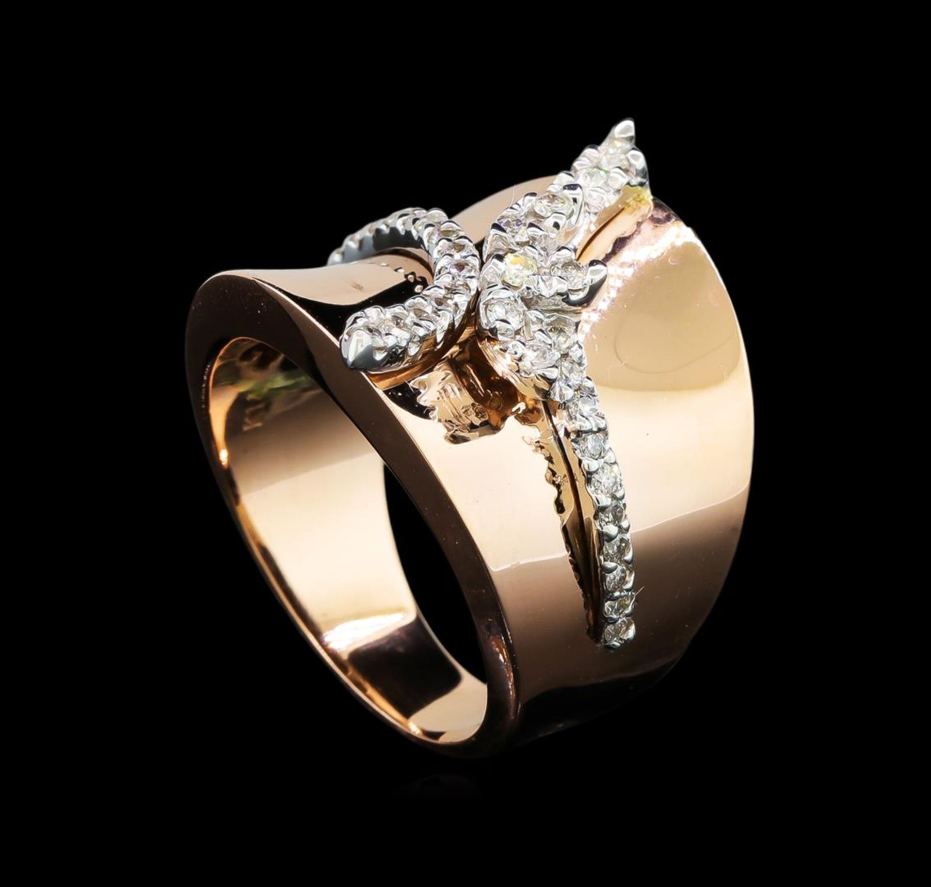 0.45ctw Diamond Ring - 14KT Two Tone Gold - Image 4 of 4