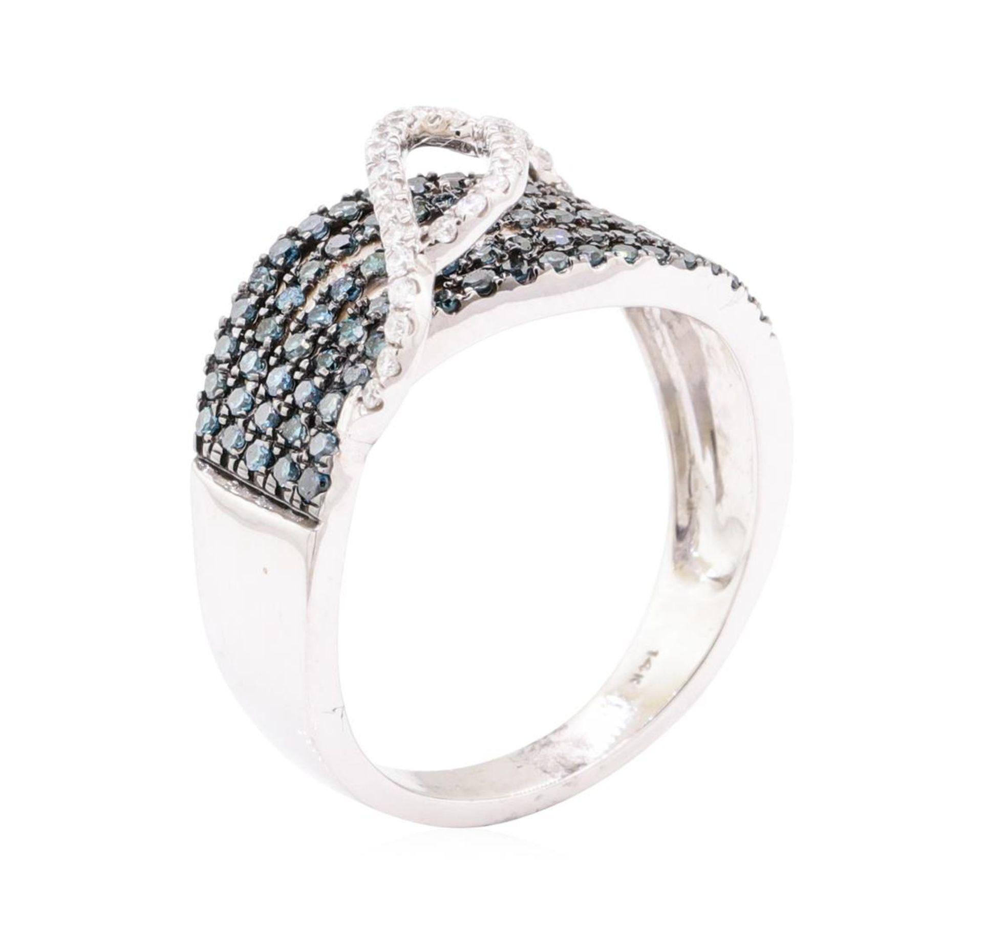 0.73 ctw Diamond Ring - 14KT White Gold - Image 4 of 5