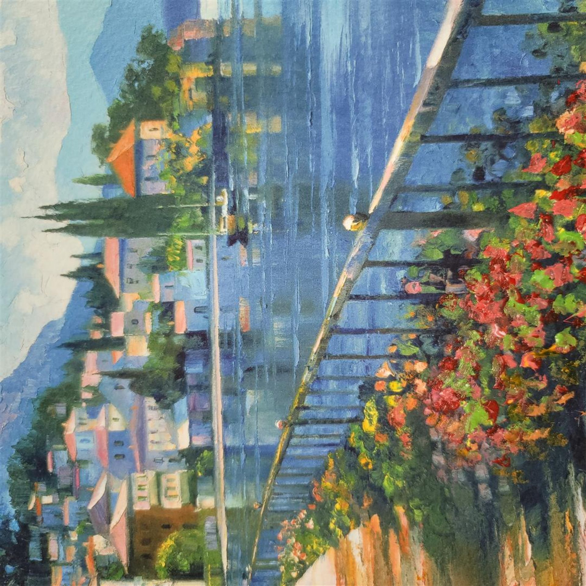 """Sunlit Stroll"" by Howard Behrens - Signed, Numbered, & Embellished - Image 4 of 4"