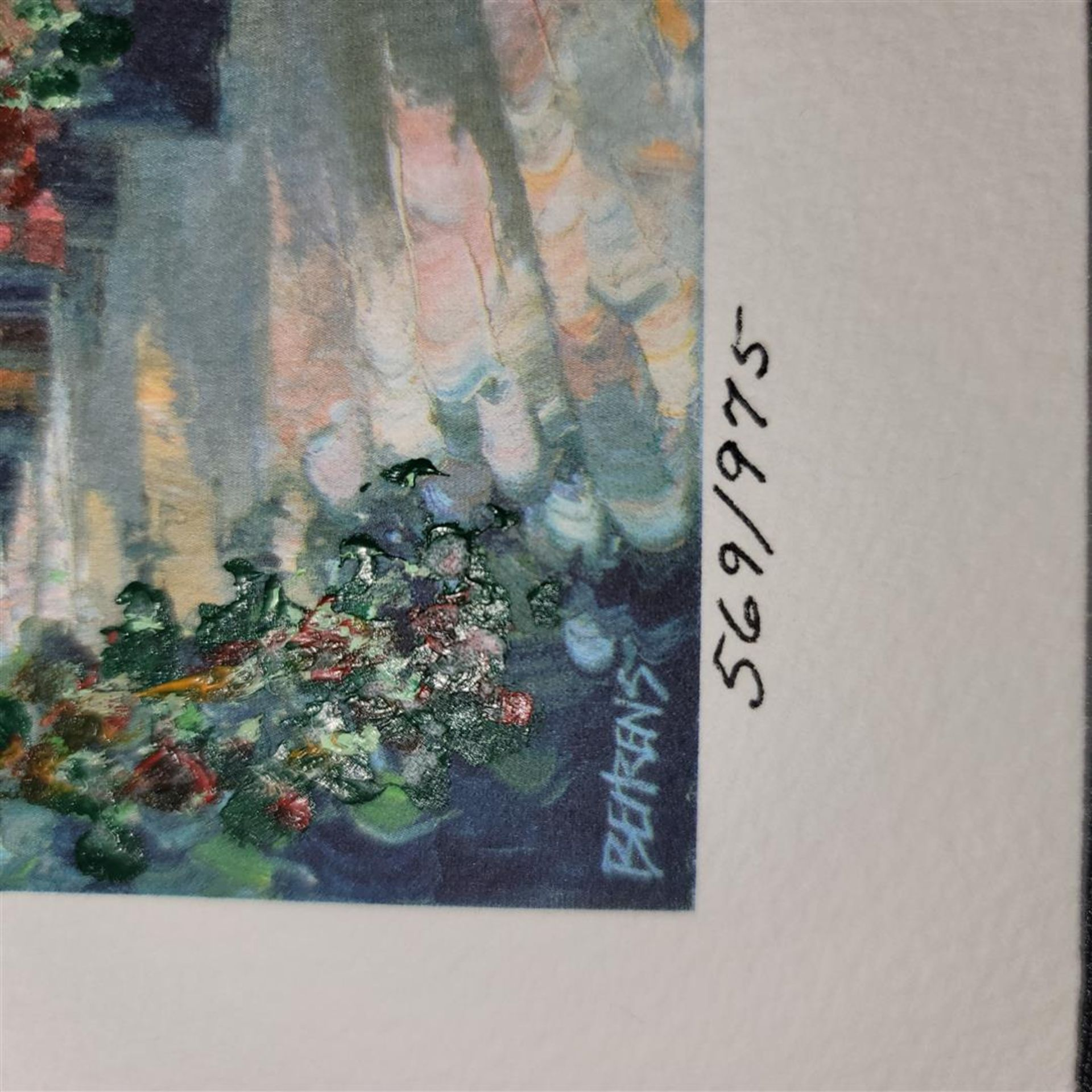 """Village Hideaway"" by Howard Behrens - Signed, Numbered, & Embellished - Image 3 of 4"