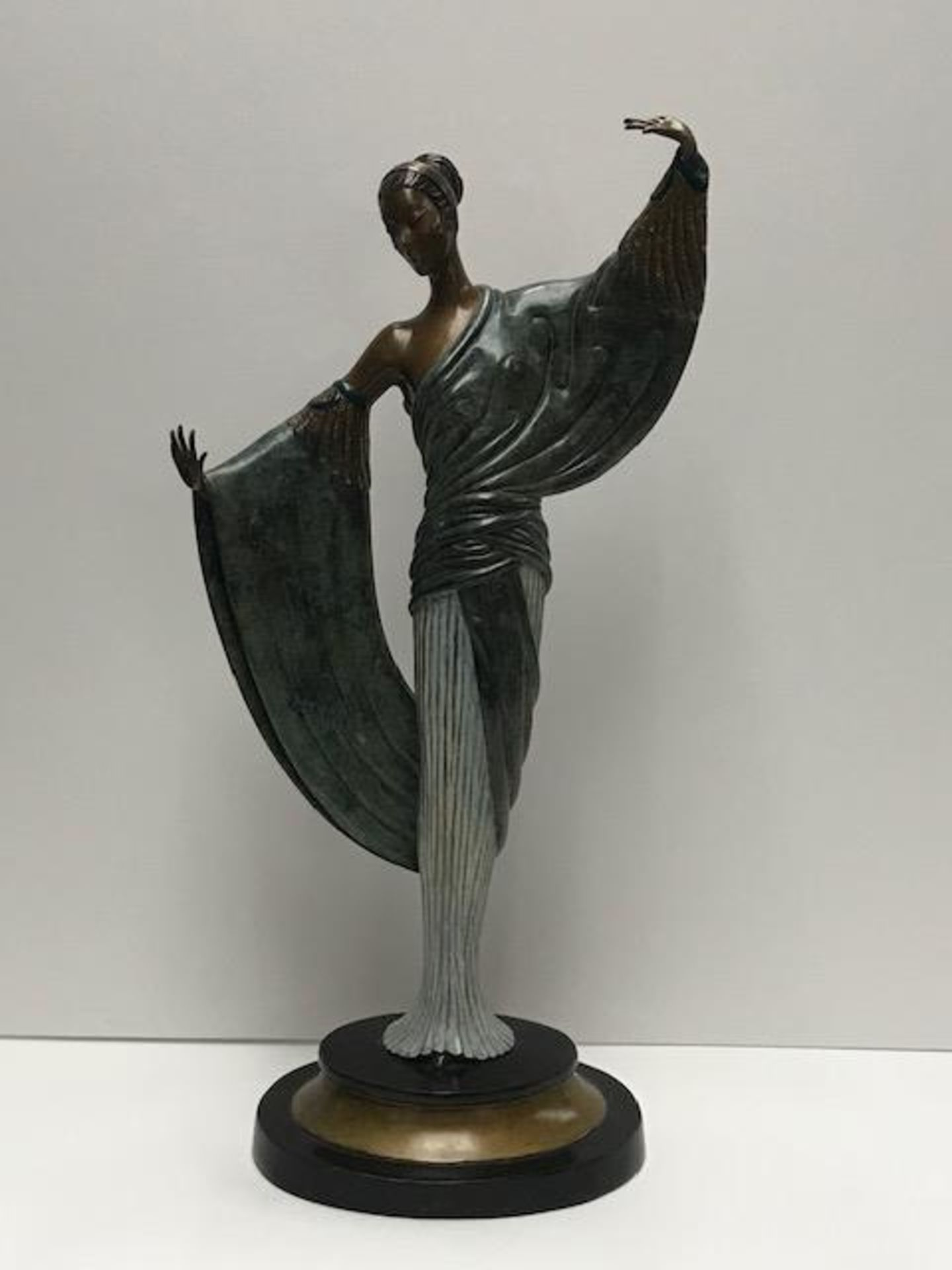 """""""In the Evening"""" by Erte: Images in Bronze"""