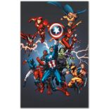 """Marvel Comics """"Official Handbook: Avengers 2005"""" Numbered Limited Edition Giclee"""