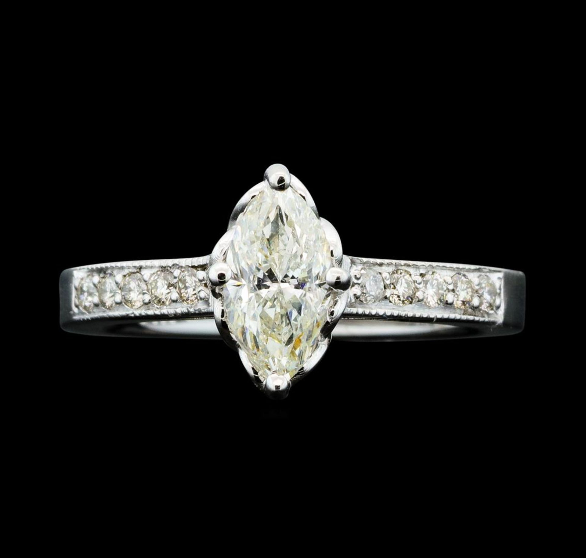 1.21 ctw Diamond Ring - 14KT White Gold - Image 2 of 5