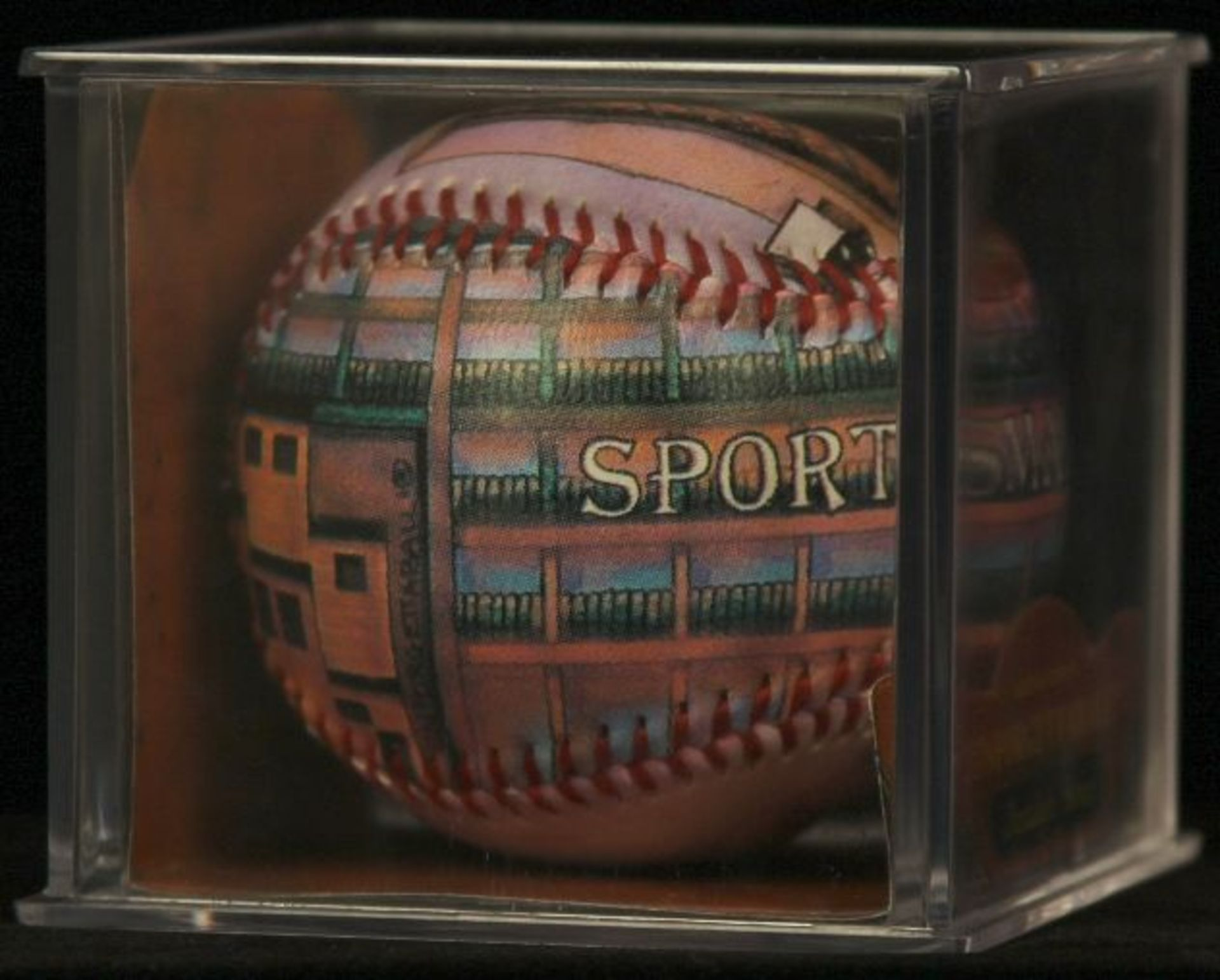"Unforgettaball! ""Sportsman's Park"" Nostalgia Series Collectable Baseball - Image 2 of 4"