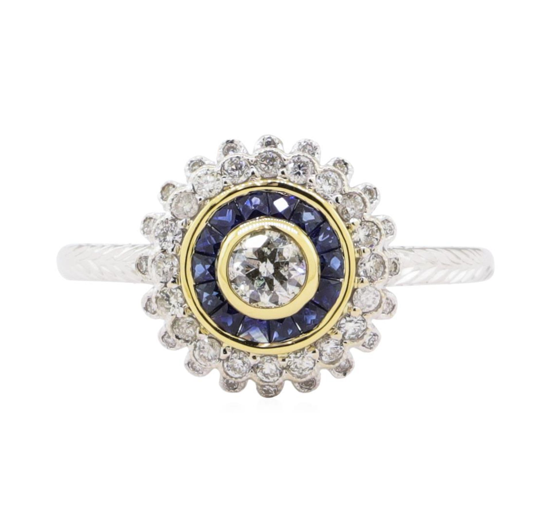 0.44ctw Diamond Ring - 18KT Two-Tone Gold - Image 2 of 4