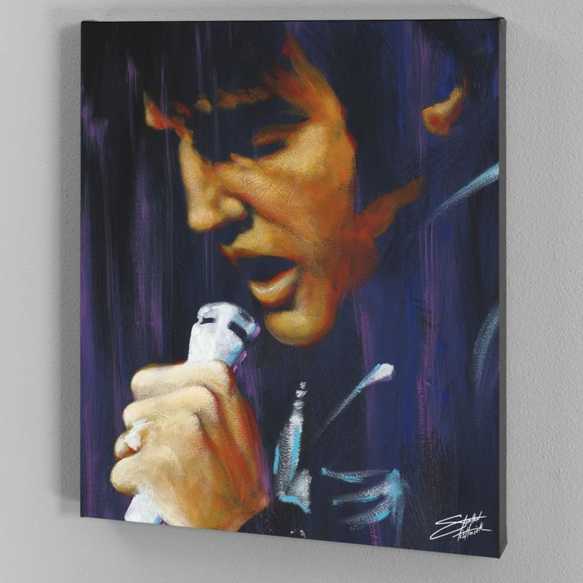 """""""I Dream"""" Limited Edition Giclee on Canvas by Stephen Fishwick, Numbered and Sig - Image 3 of 3"""