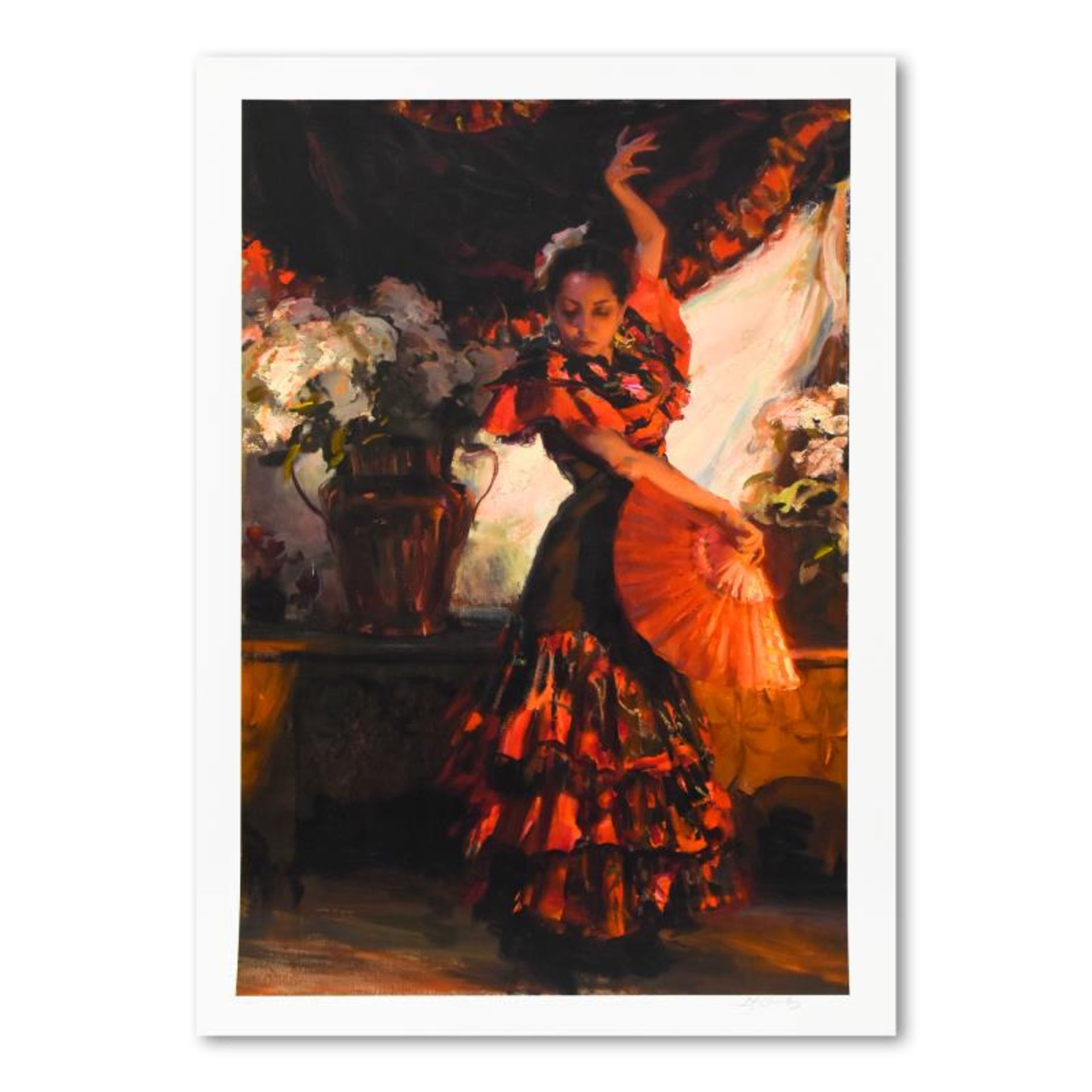 """Dan Gerhartz, """"Viva Flamenco"""" Limited Edition, Numbered and Hand Signed with Let"""