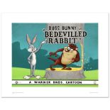 """""""Bedevilled Rabbit"""" Limited Edition Giclee from Warner Bros., Numbered with Holo"""