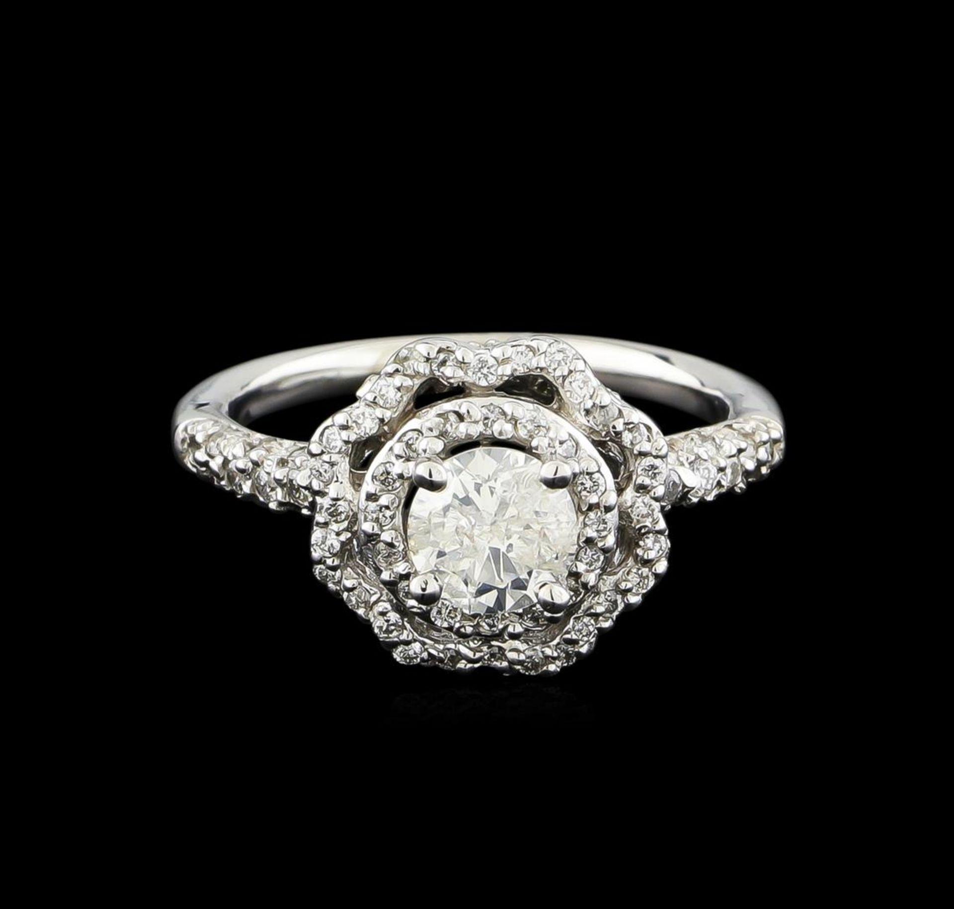 14KT White Gold 0.95 ctw Diamond Ring - Image 2 of 5