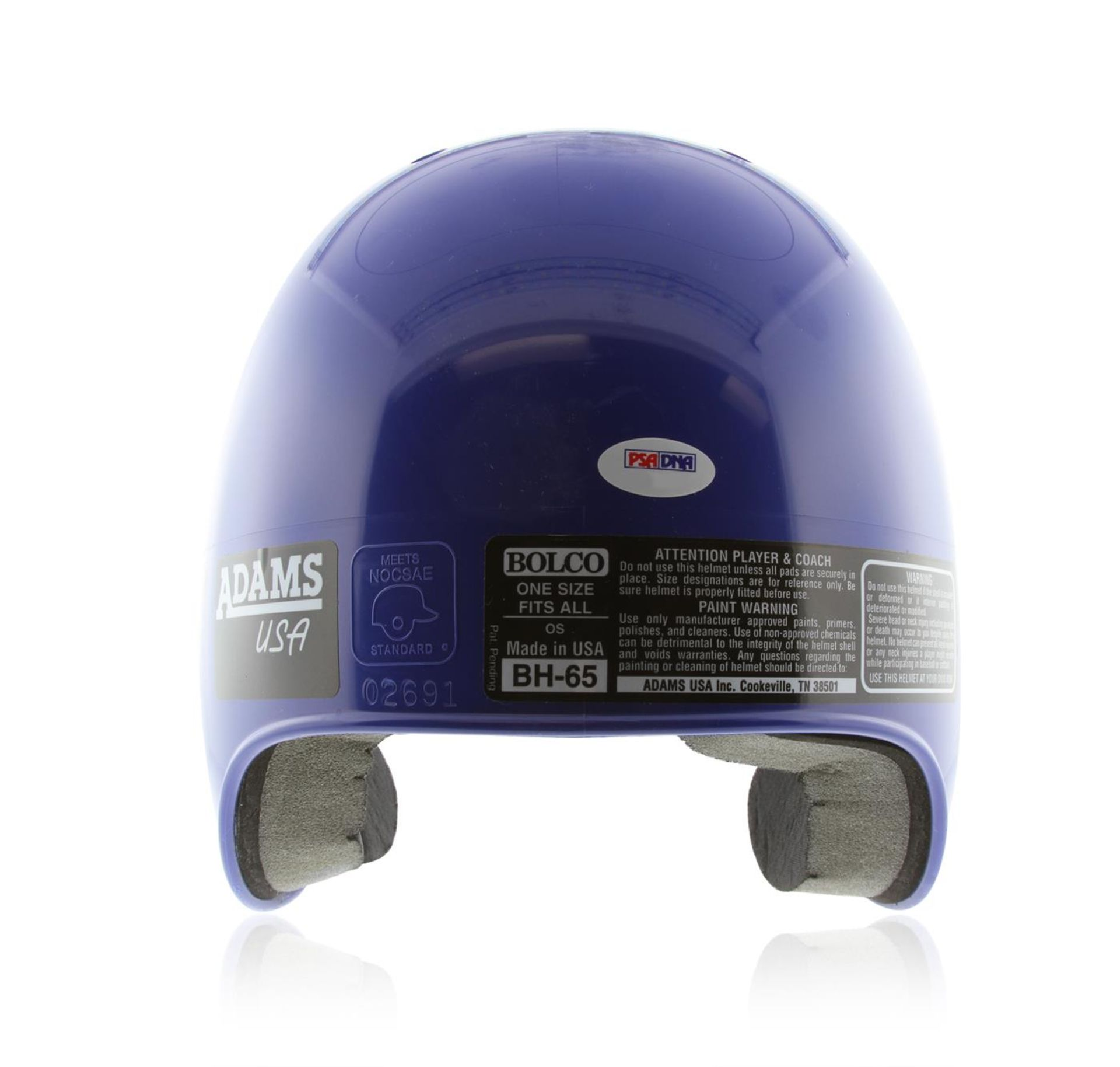 Autographed Duke Snider Brooklyn Helmet PSA Certified - Image 3 of 4