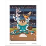 """At the Plate (Marlins)"" Numbered Limited Edition Giclee from Warner Bros. with"