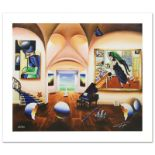 """""""Masters Musician Beginning"""" Limited Edition Giclee on Canvas by Ferjo, Numbered"""