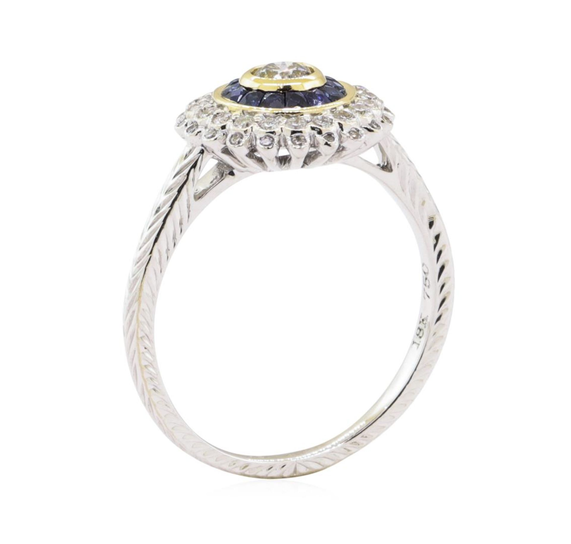 0.44ctw Diamond Ring - 18KT Two-Tone Gold - Image 4 of 4