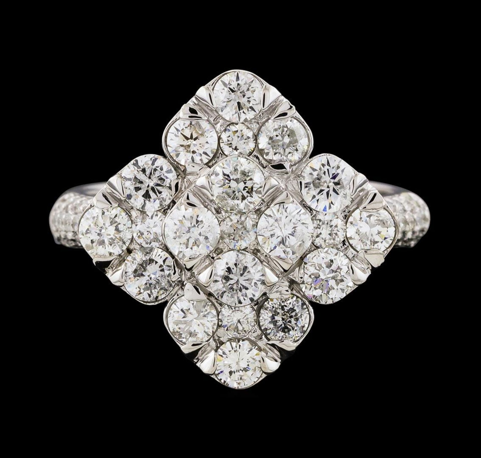 2.12 ctw Diamond Ring - 14KT White Gold - Image 2 of 5