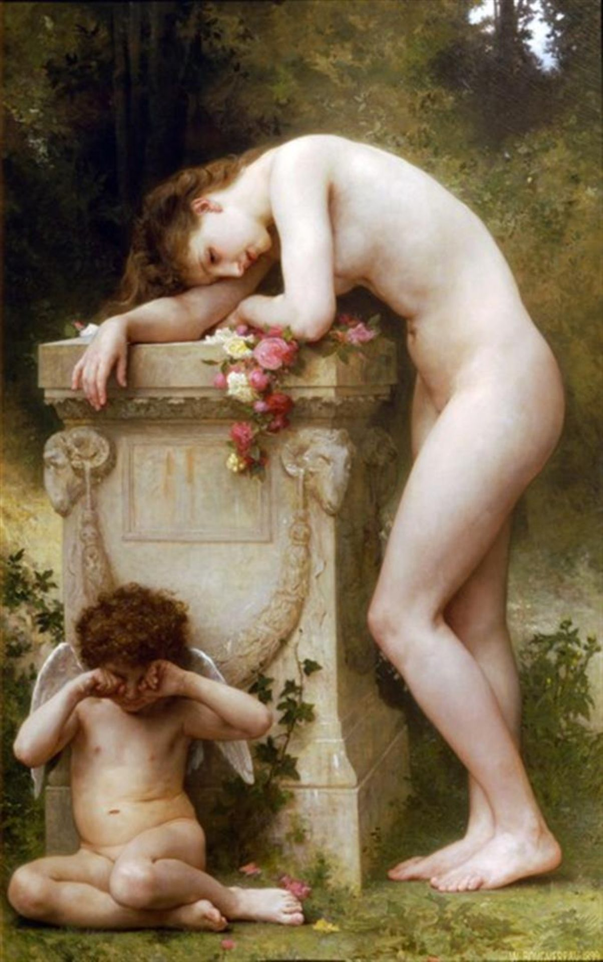 William Bouguereau - Elegy