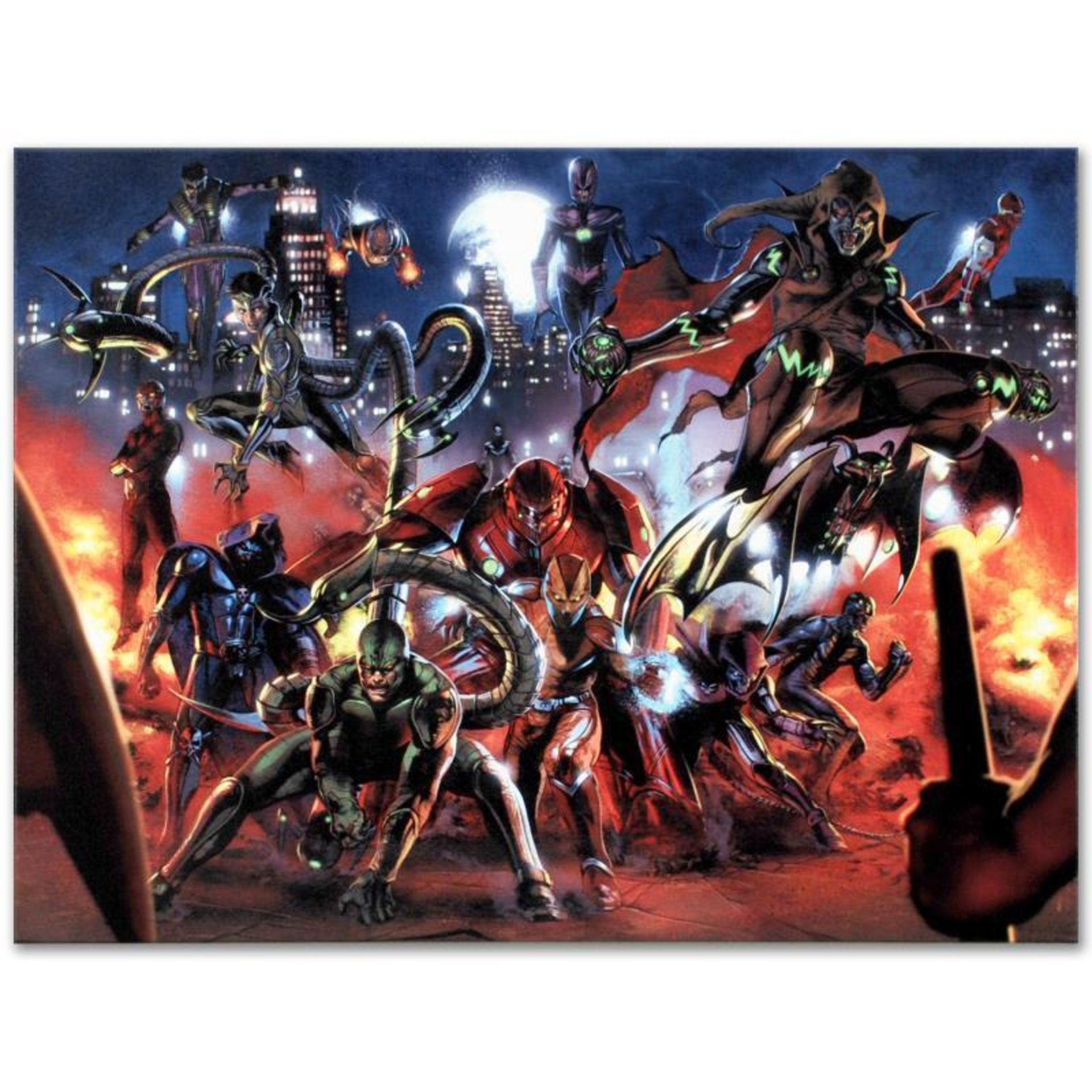 "Marvel Comics ""Secret War #3"" Numbered Limited Edition Giclee on Canvas by Gabri"