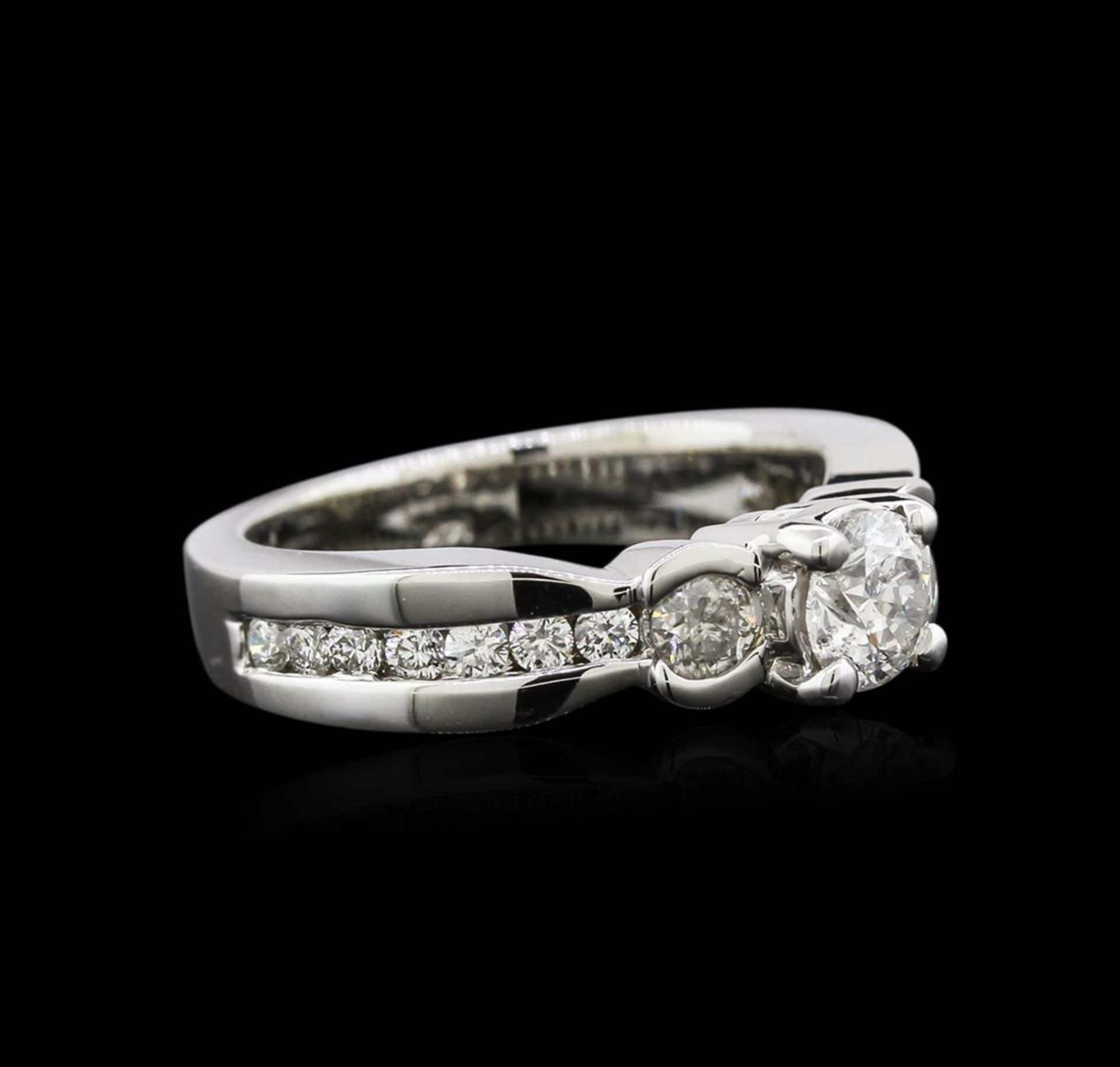 14KT White Gold 1.19 ctw Diamond Ring - Image 2 of 4