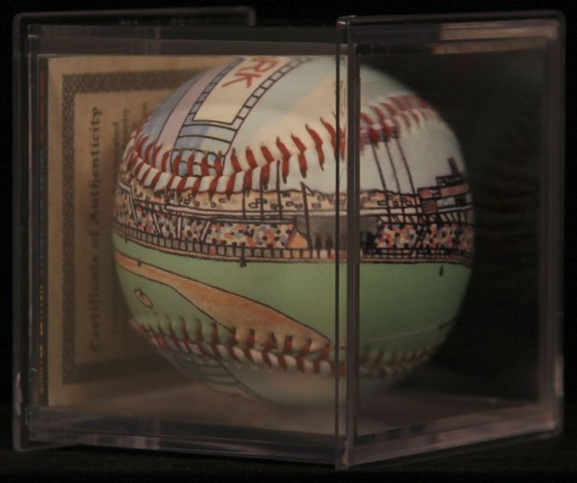"""Unforgettaball! """"Candlestick Park"""" Collectable Baseball - Image 5 of 6"""