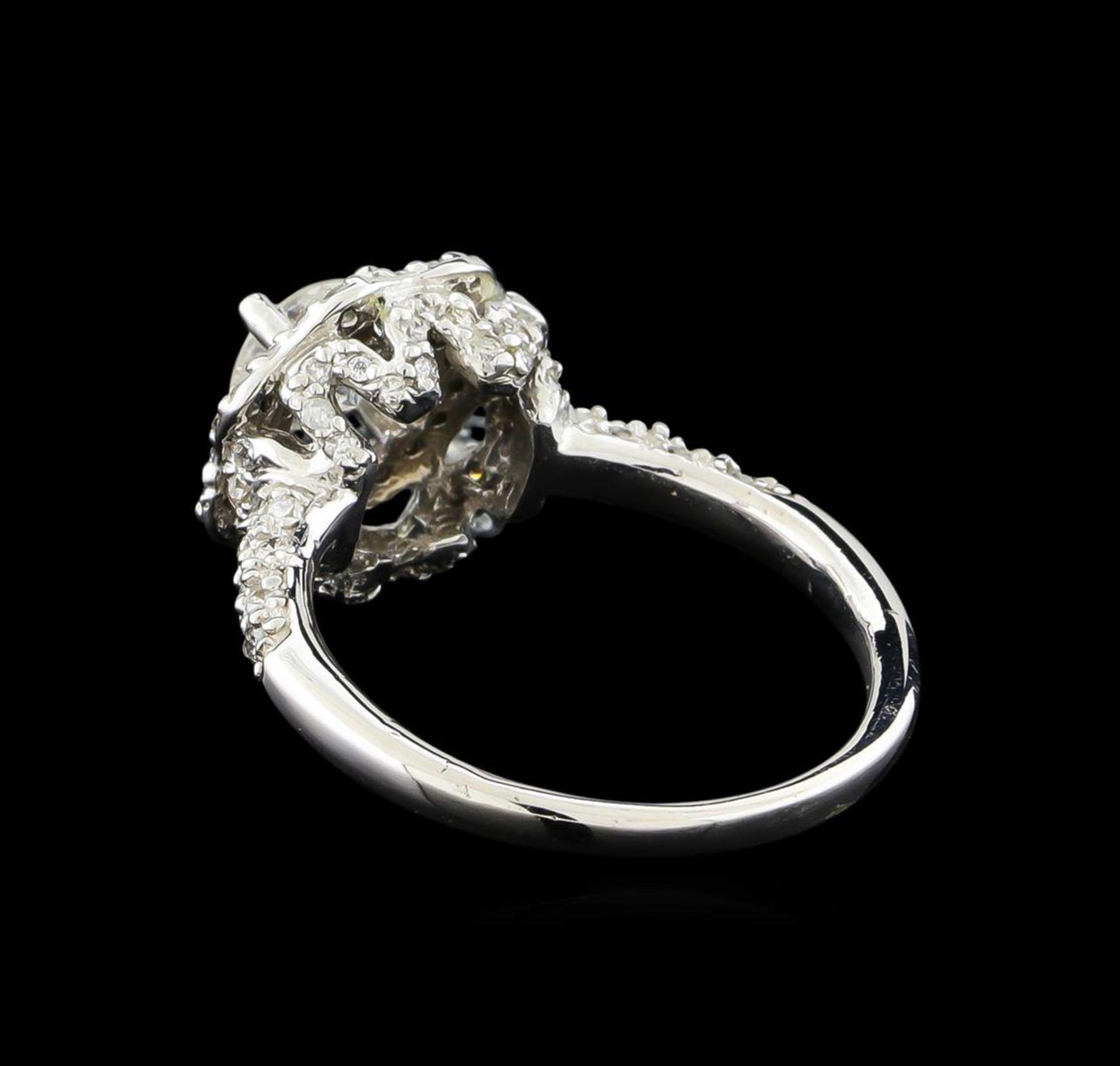 14KT White Gold 0.95 ctw Diamond Ring - Image 3 of 5
