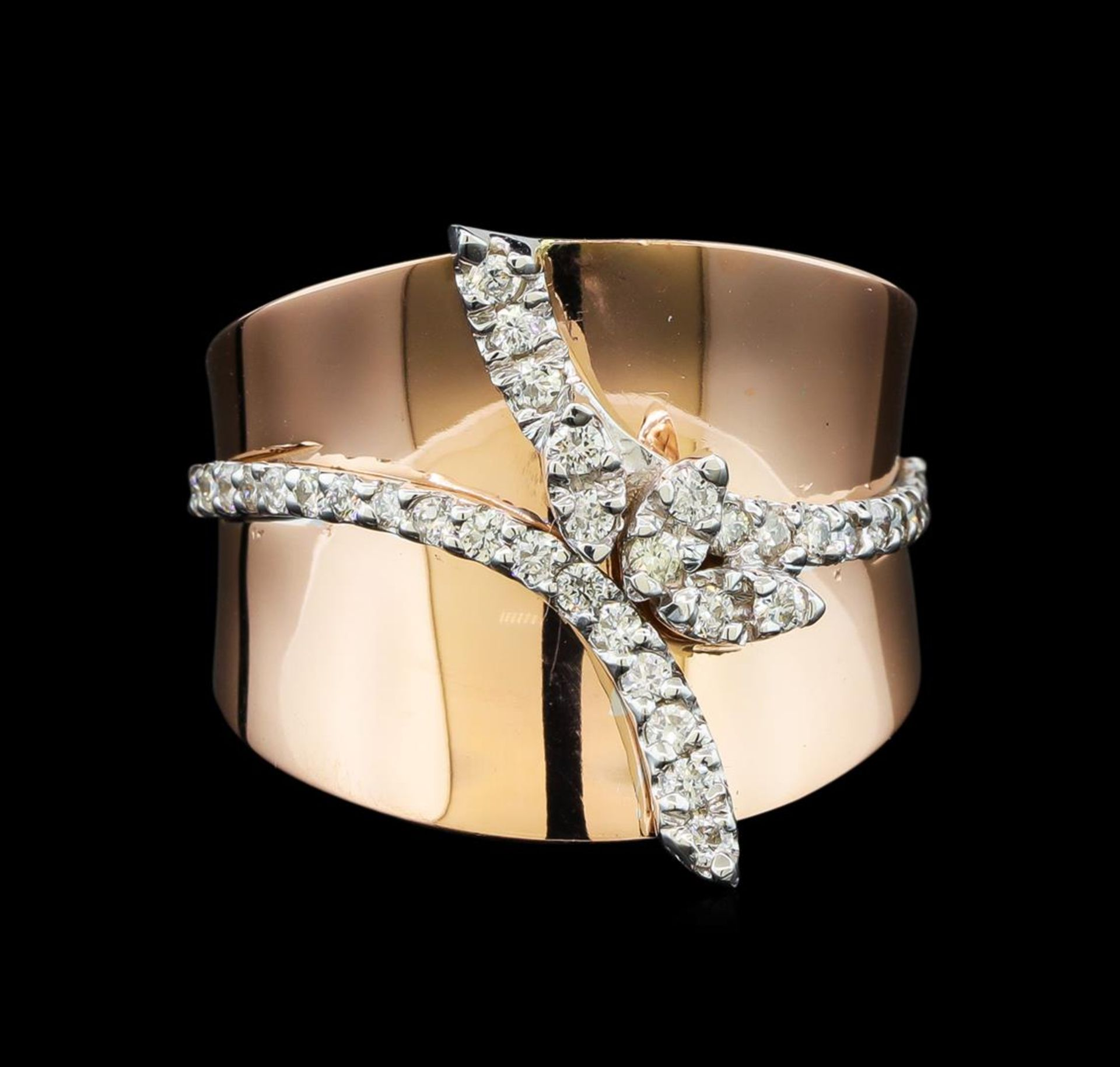 0.45ctw Diamond Ring - 14KT Two Tone Gold - Image 2 of 4