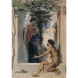 William Bouguereau - Roman Charity Unknown