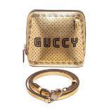 Gucci Gold Dome Crossbody Bag