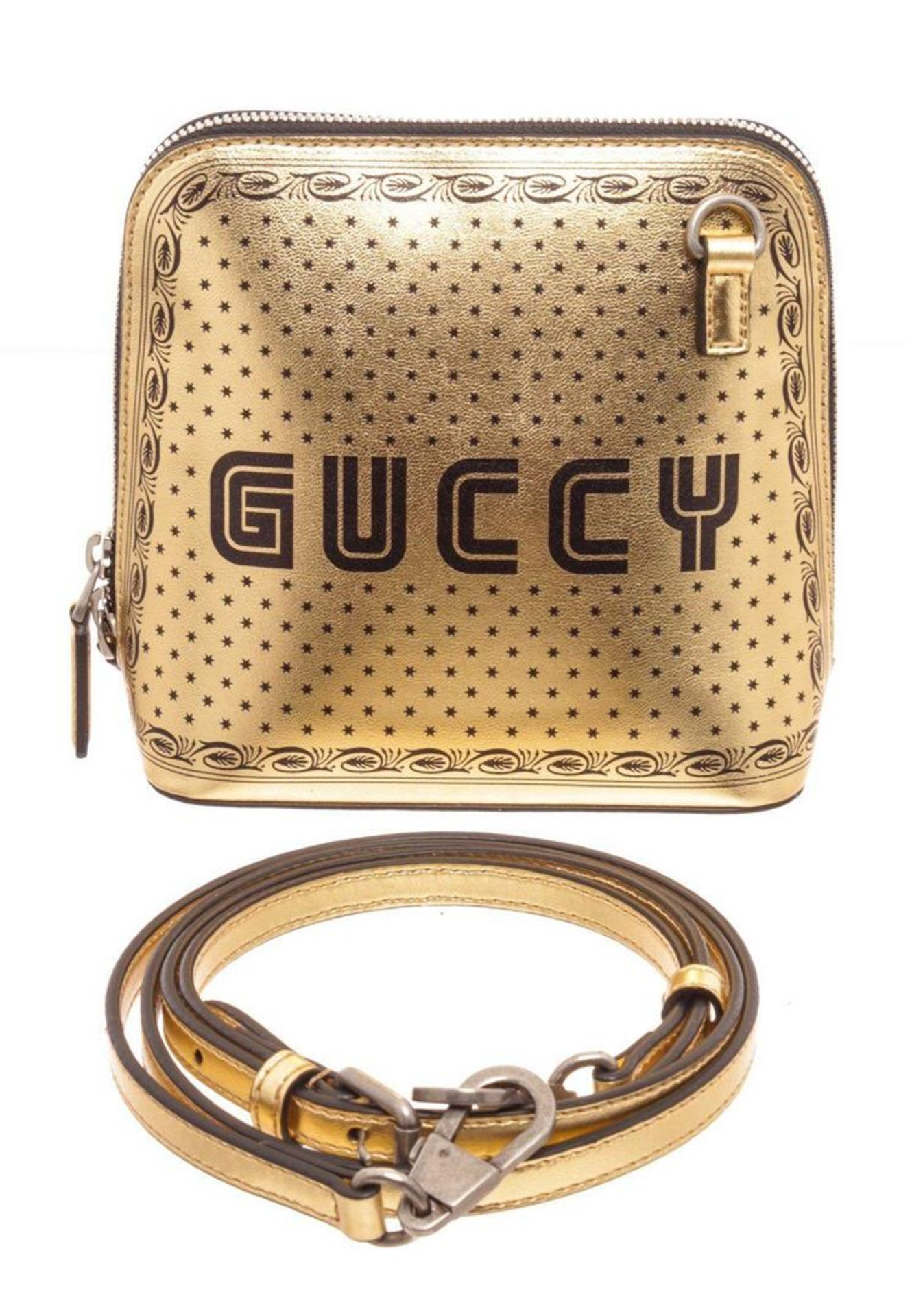 Gucci Gold Dome Crossbody Bag