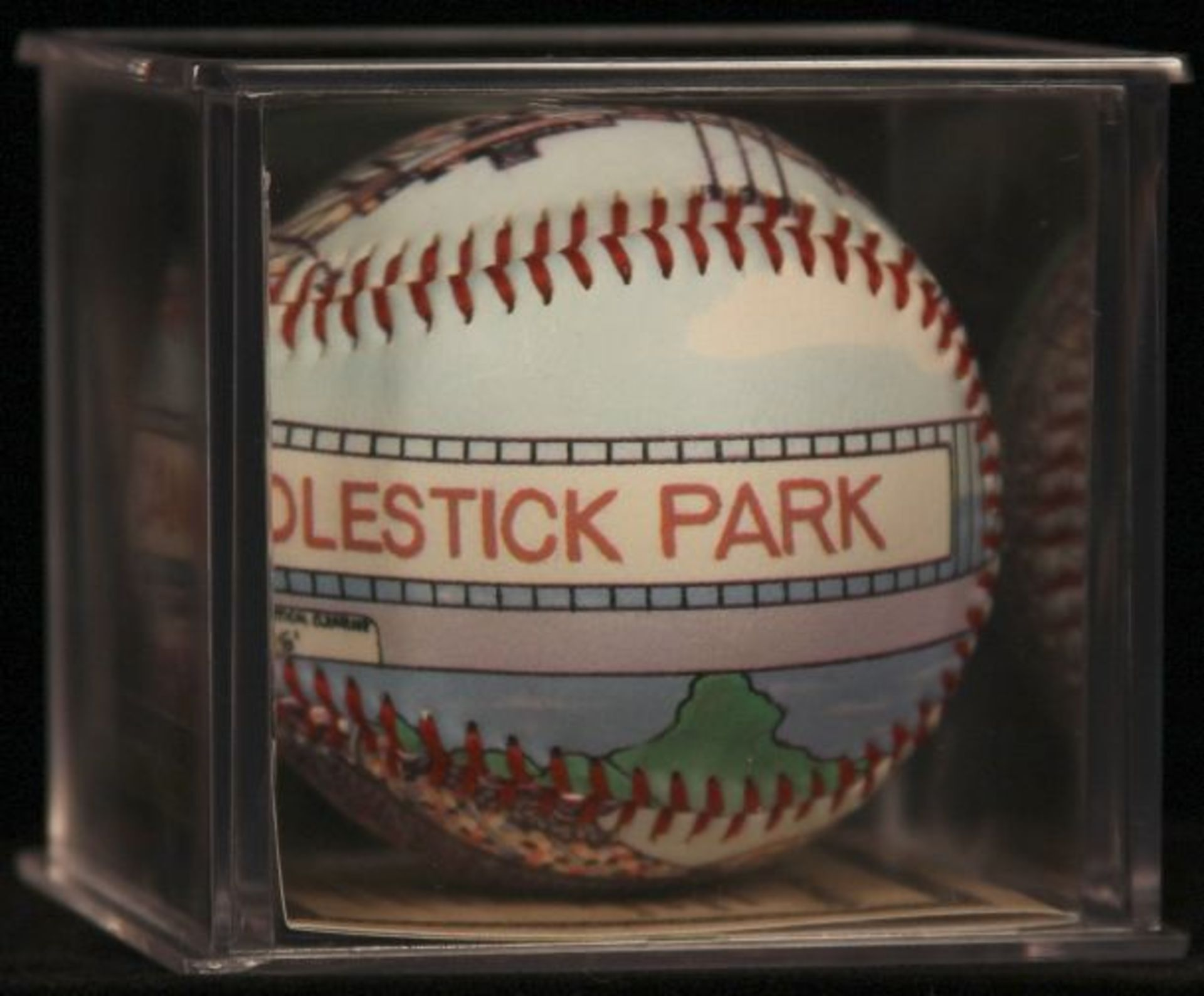 """Unforgettaball! """"Candlestick Park"""" Collectable Baseball - Image 3 of 6"""