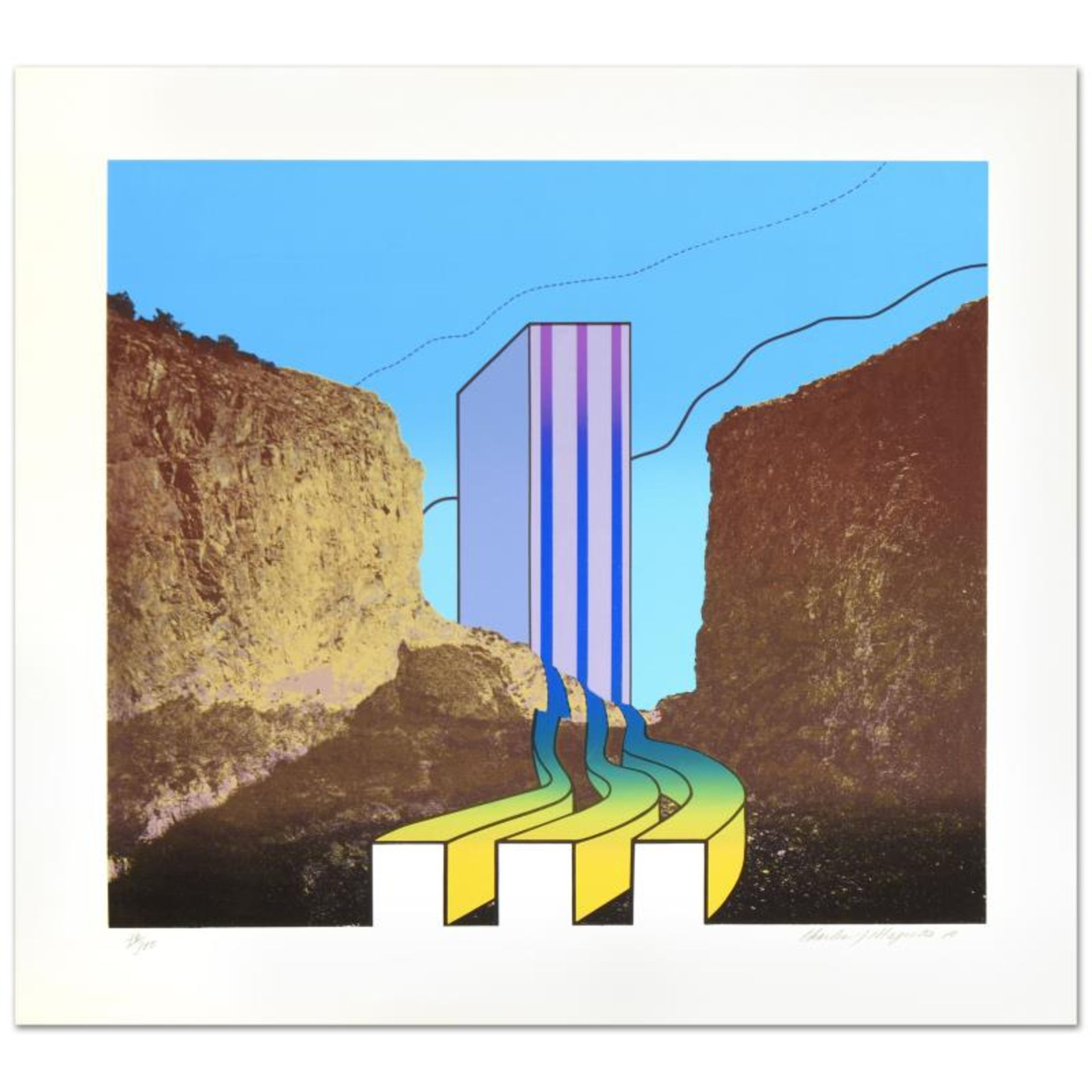 """""""Great American Canyon"""" Limited Edition Lithograph by Charles Magistro, Numbered"""
