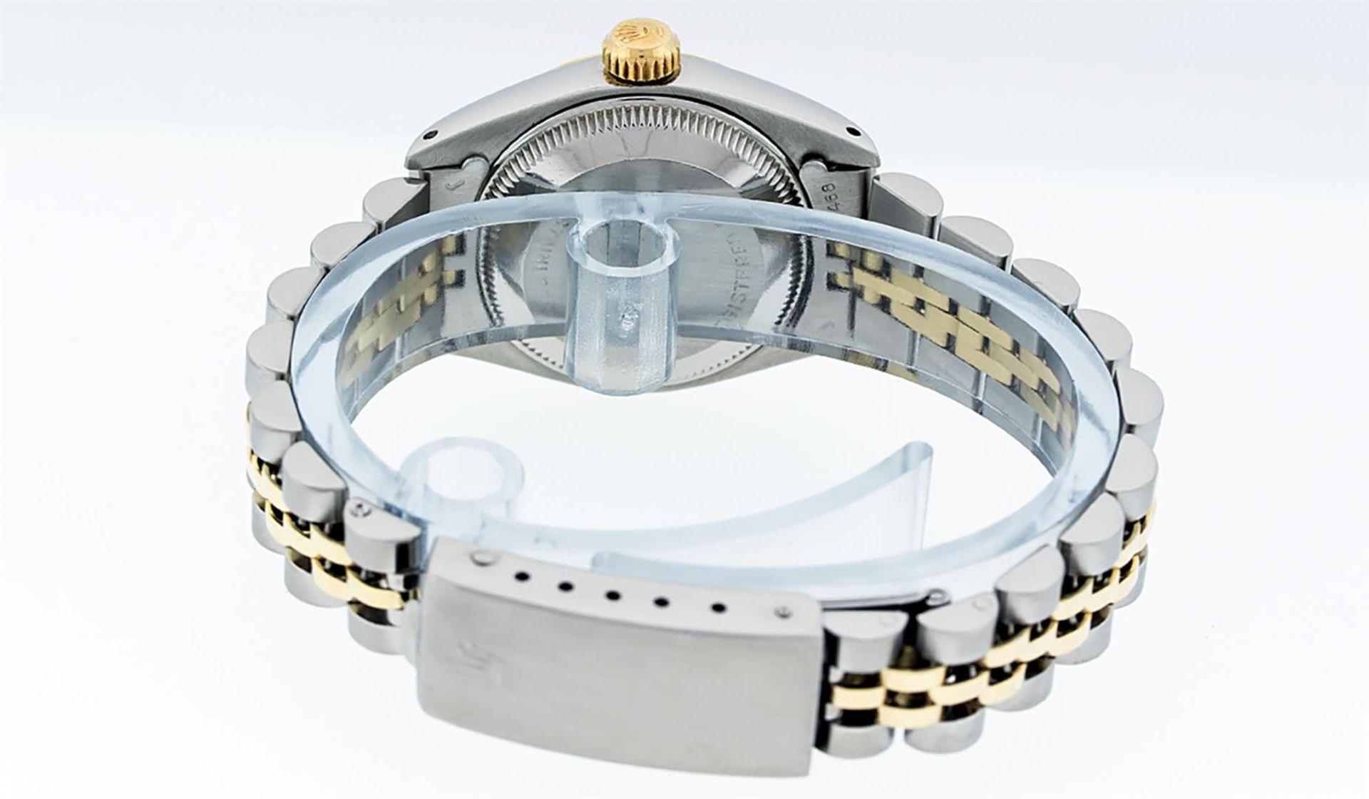 Rolex Ladies 2 Tone White Diamond 26MM Datejust Wristwatch - Image 8 of 8