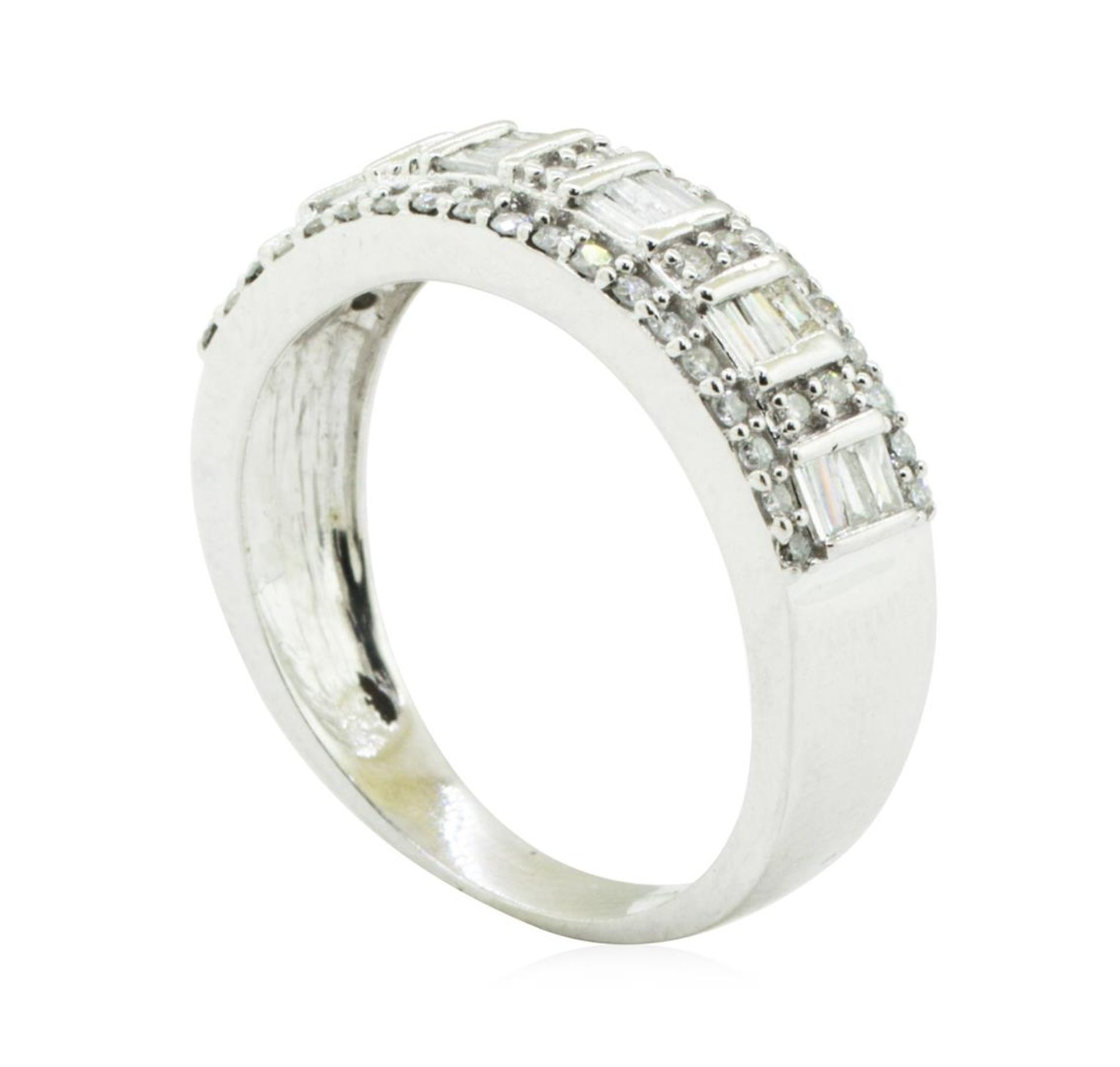 1.00 ctw Diamond Ring - 14KT White Gold - Image 4 of 4