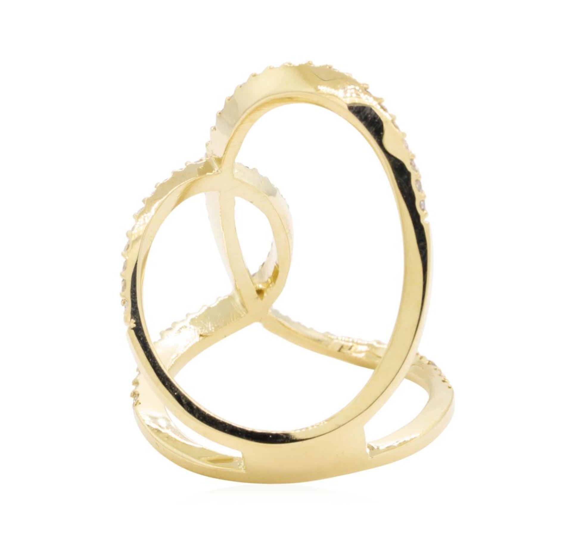 0.75 ctw Diamond Ring - 14KT Yellow Gold - Image 3 of 5