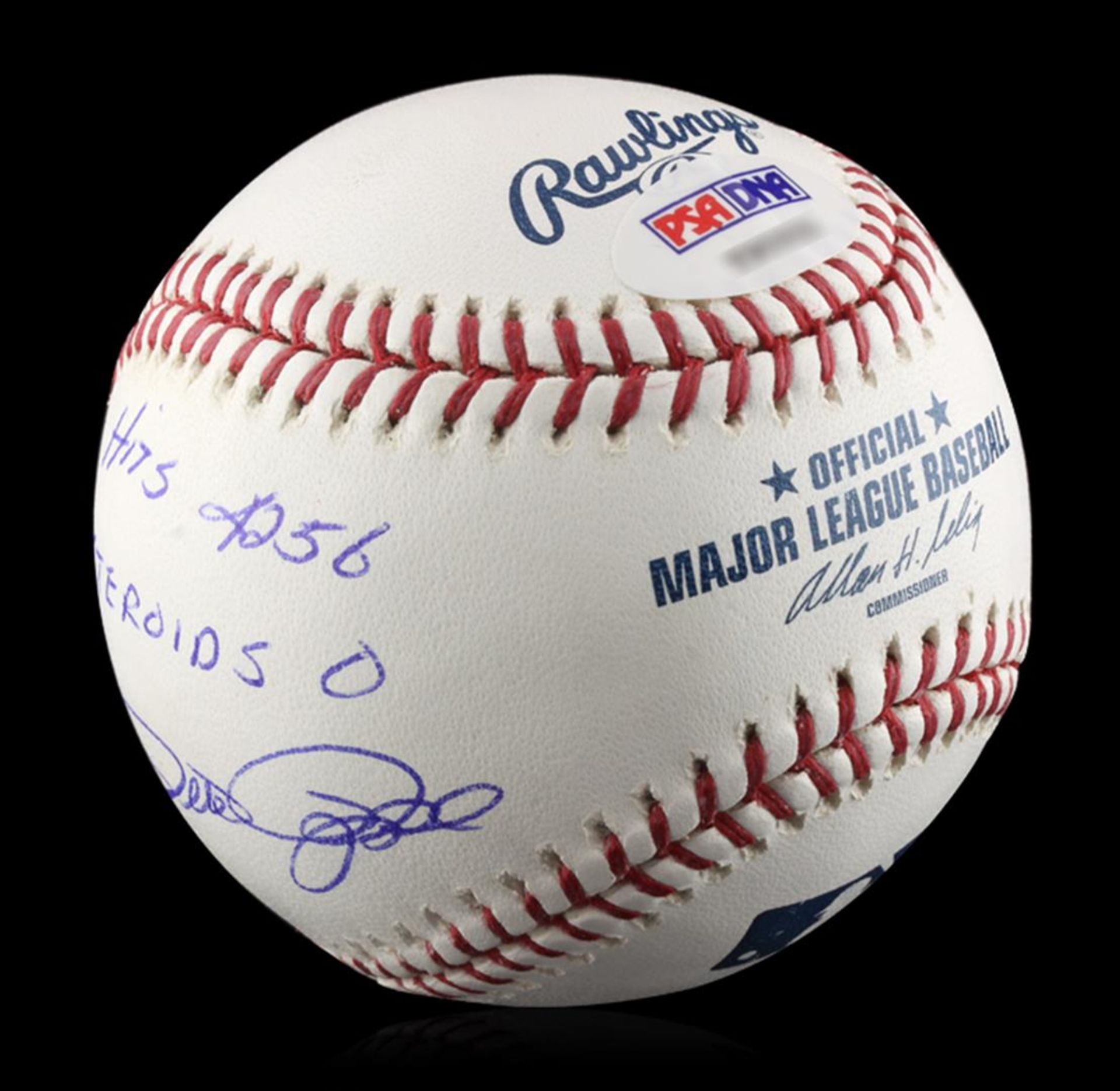 Autographed Pete Rose Baseball PSA Certified - Image 2 of 3