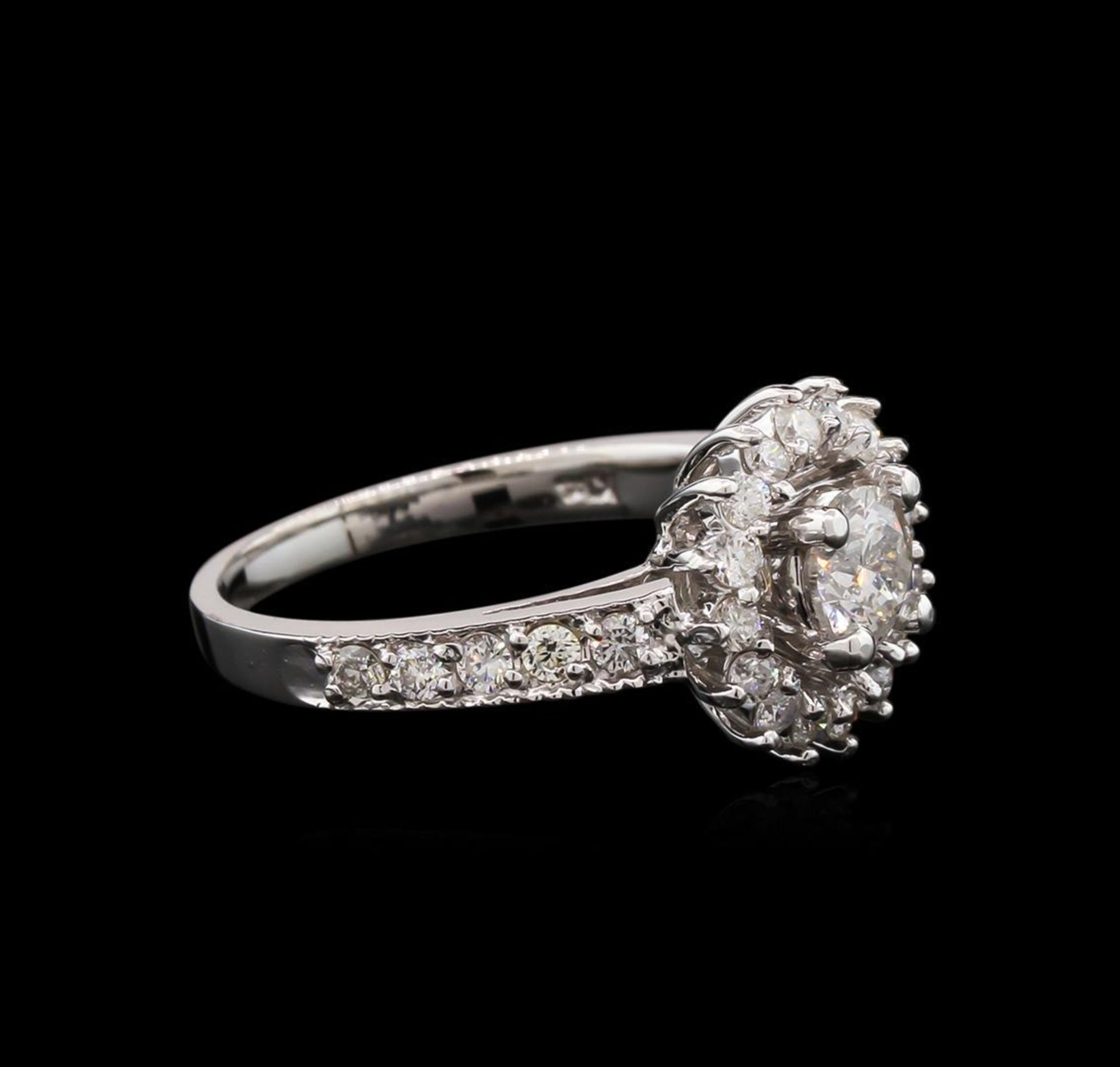 1.04ctw Diamond Ring - 14KT White Gold - Image 2 of 3