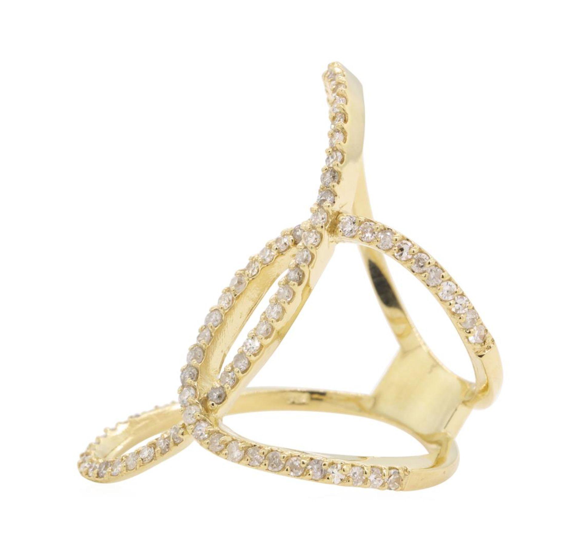 0.75 ctw Diamond Ring - 14KT Yellow Gold - Image 2 of 5