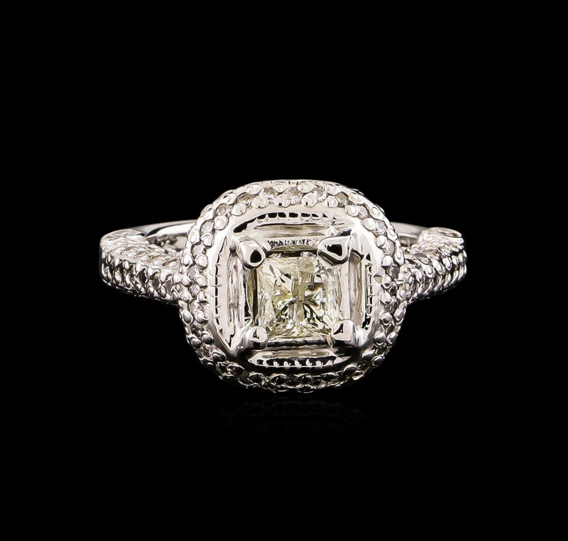 14KT White Gold 1.78 ctw Diamond Ring - Image 2 of 5