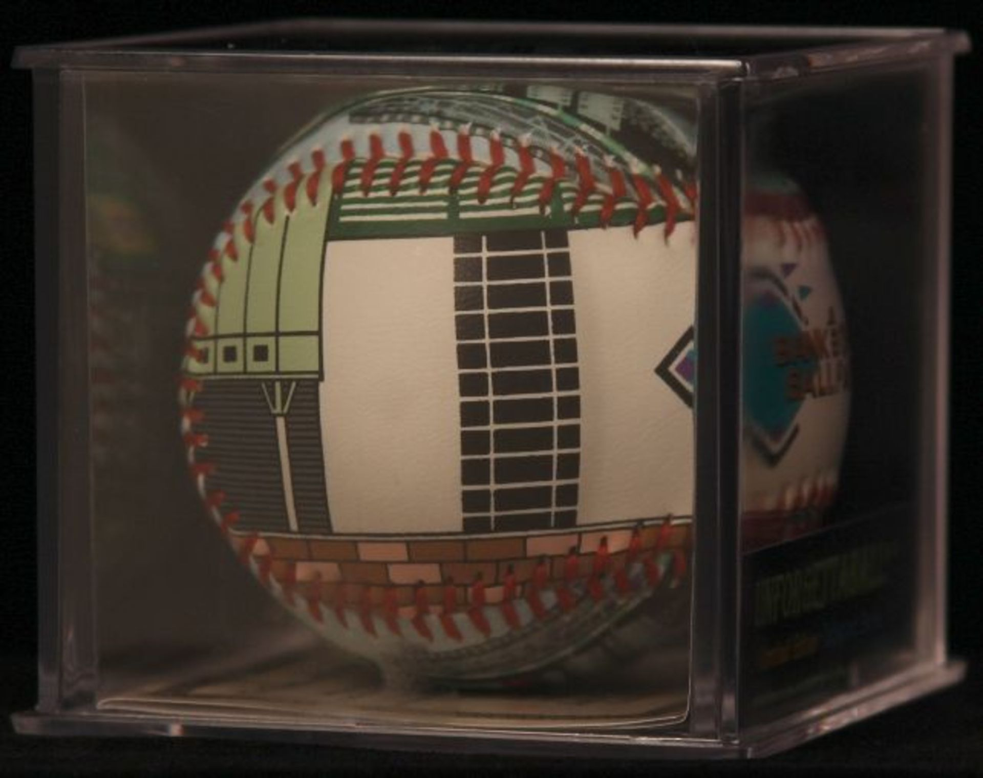 "Unforgettaball! ""Bank One Ballpark"" Collectable Baseball - Image 2 of 6"