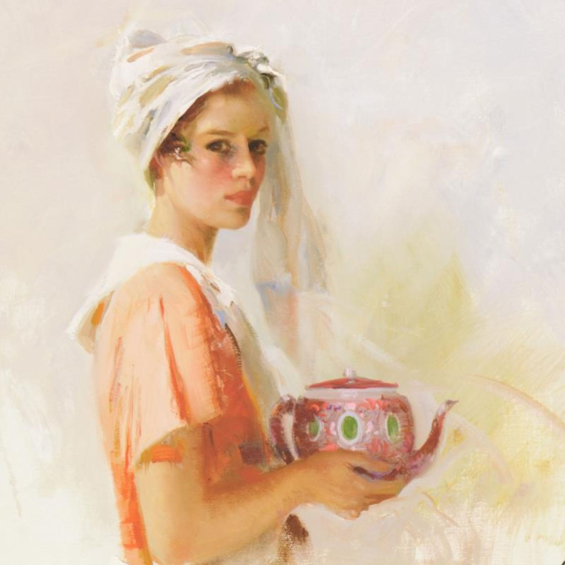 """Pino (1939-2010) """"The Gift"""" Limited Edition Giclee. Numbered and Hand Signed; Ce - Image 2 of 2"""