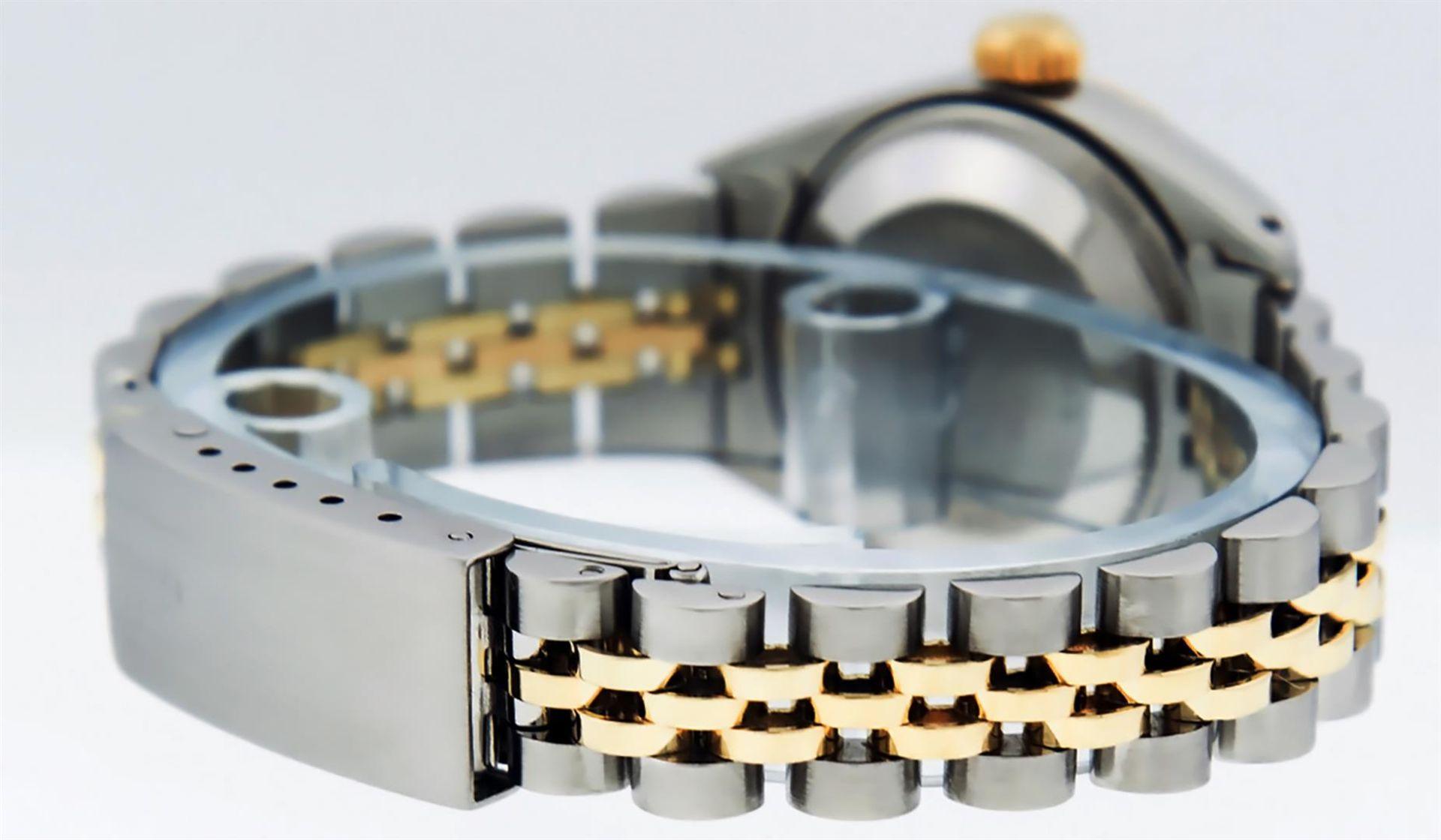 Rolex Ladies 2 Tone White Diamond 26MM Datejust Wristwatch - Image 7 of 8