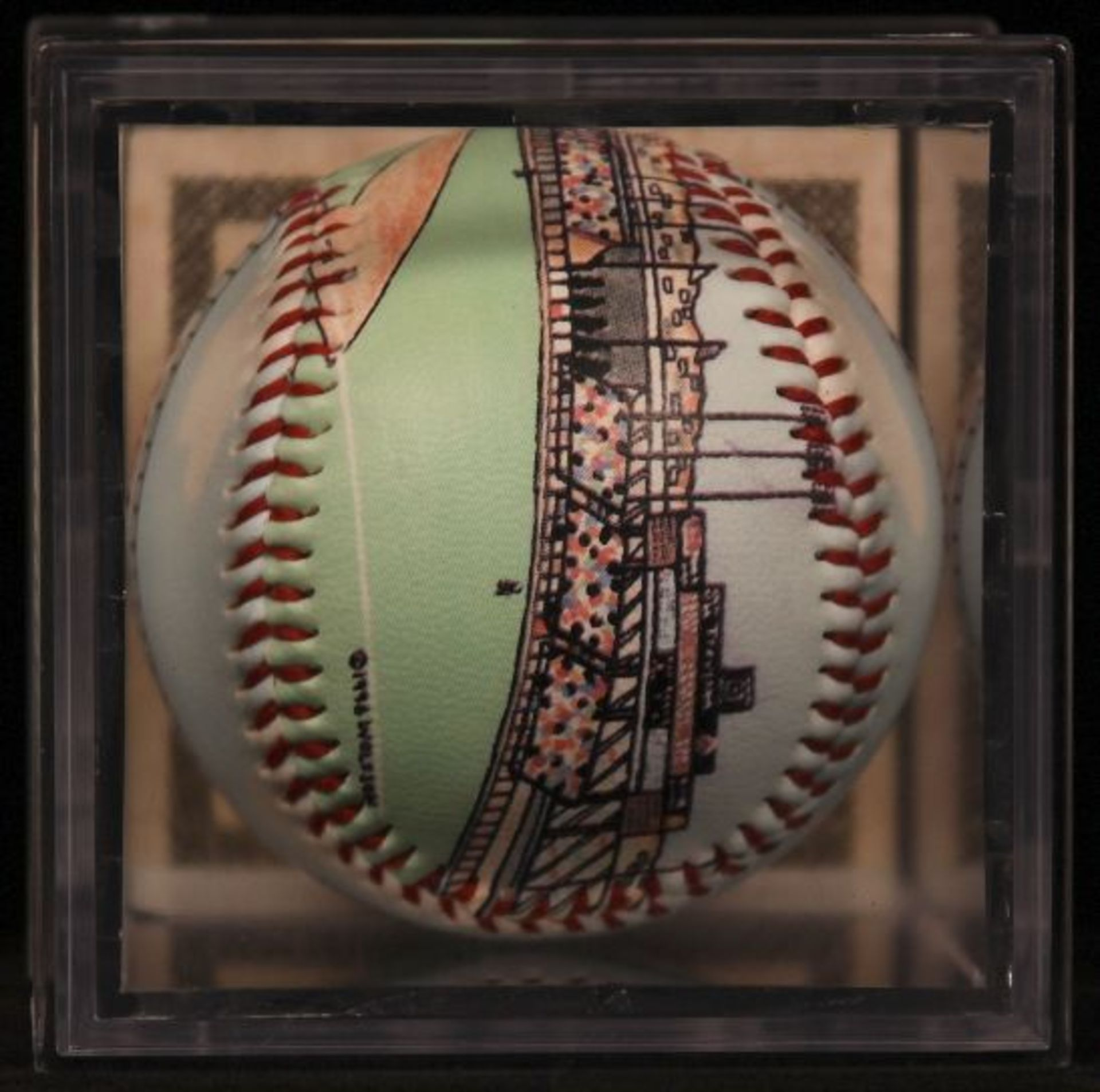 """Unforgettaball! """"Candlestick Park"""" Collectable Baseball - Image 4 of 6"""
