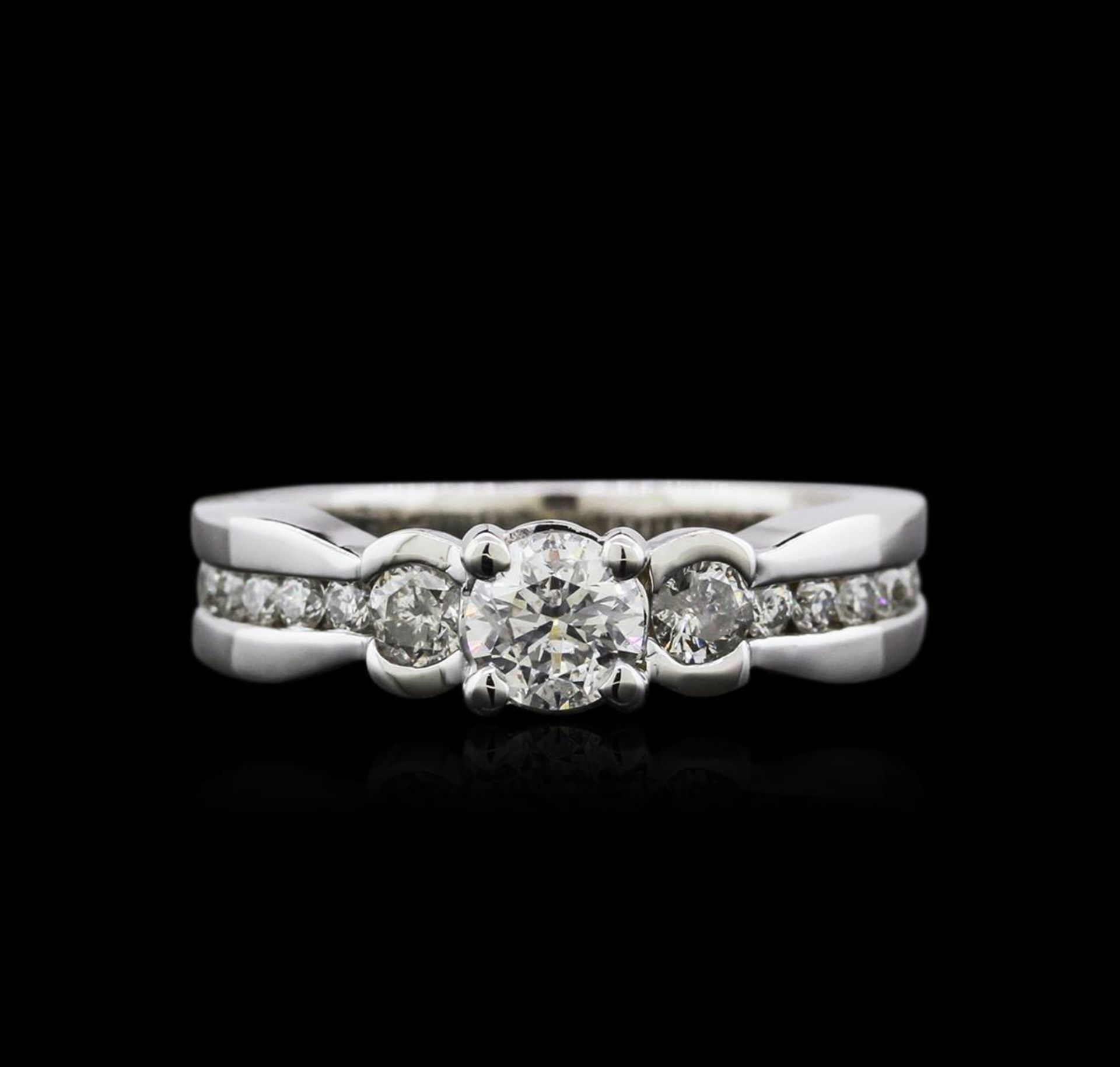 14KT White Gold 1.19 ctw Diamond Ring - Image 3 of 4
