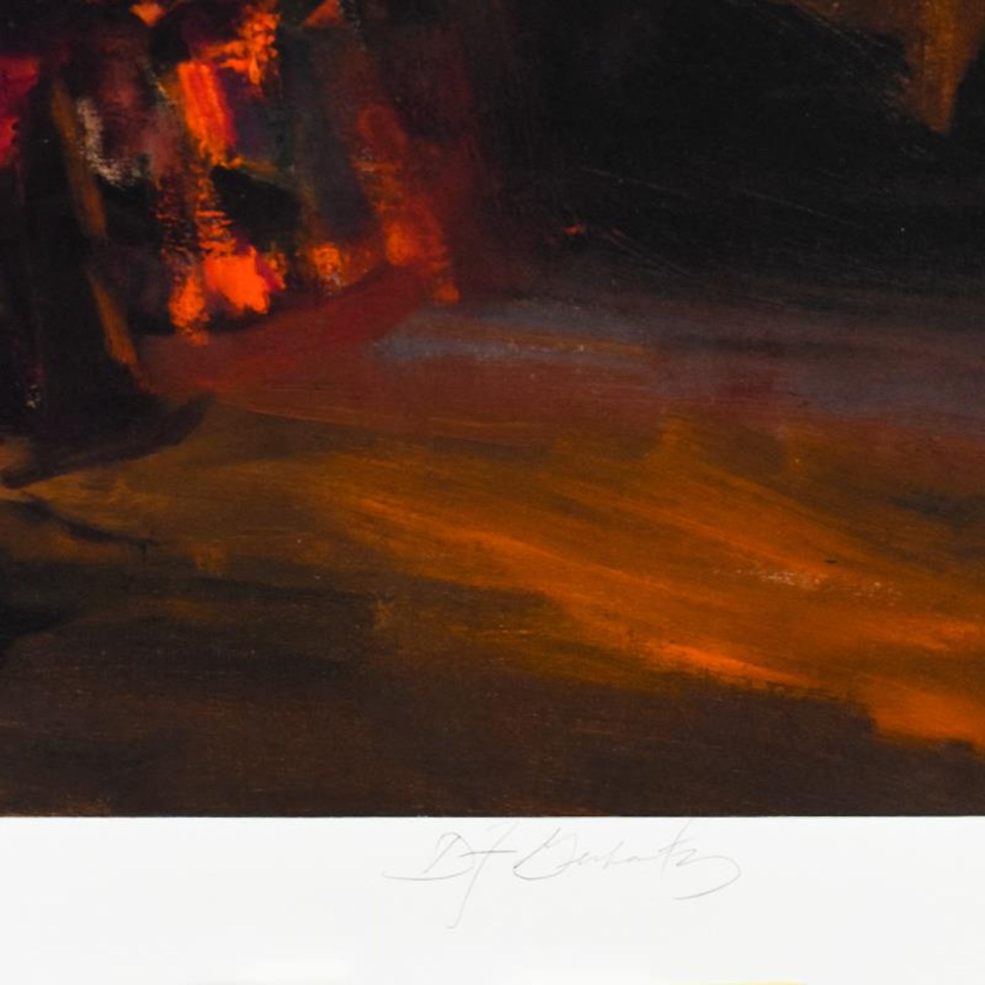 """Dan Gerhartz, """"Viva Flamenco"""" Limited Edition, Numbered and Hand Signed with Let - Image 2 of 2"""