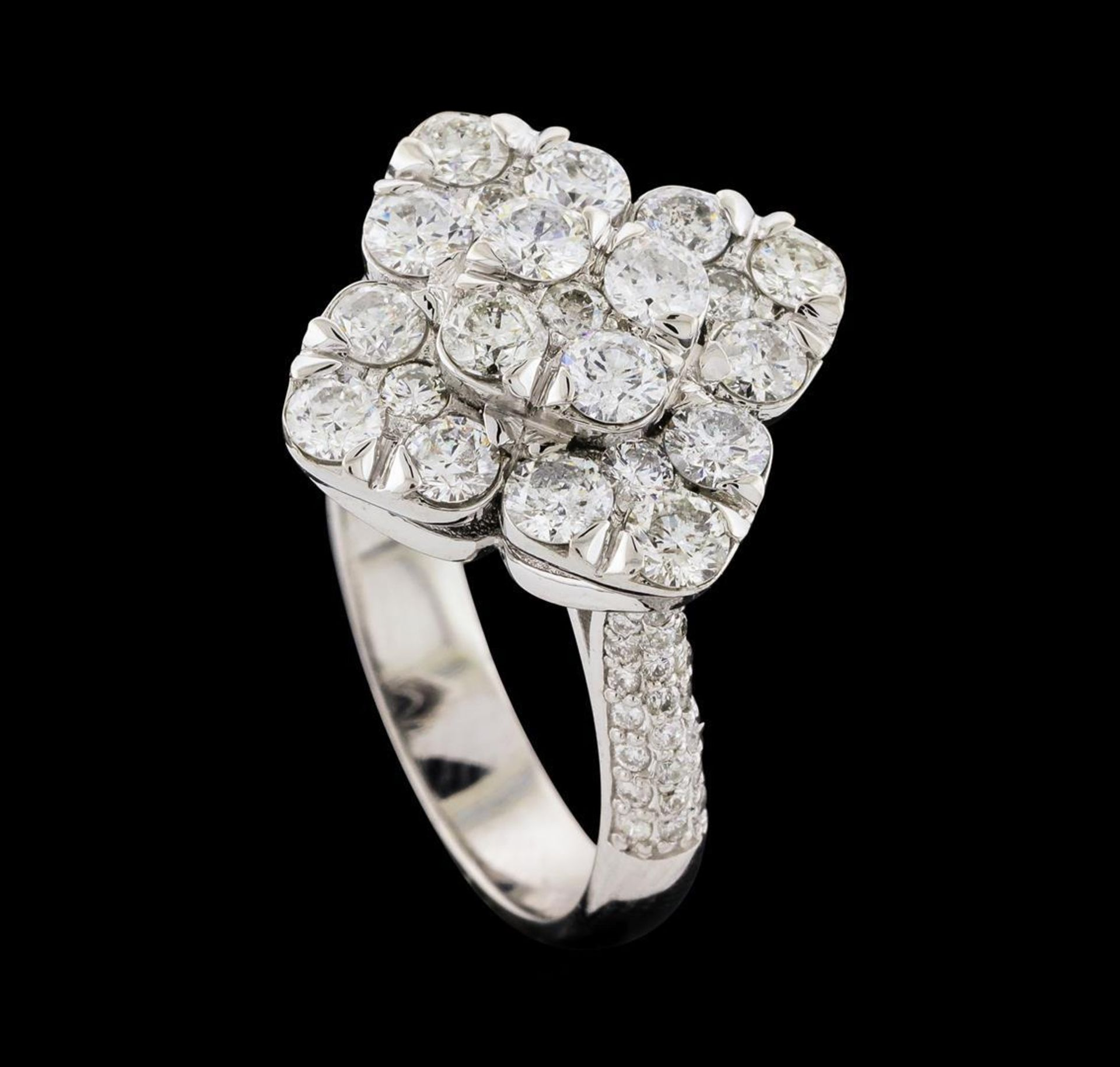 2.12 ctw Diamond Ring - 14KT White Gold - Image 4 of 5