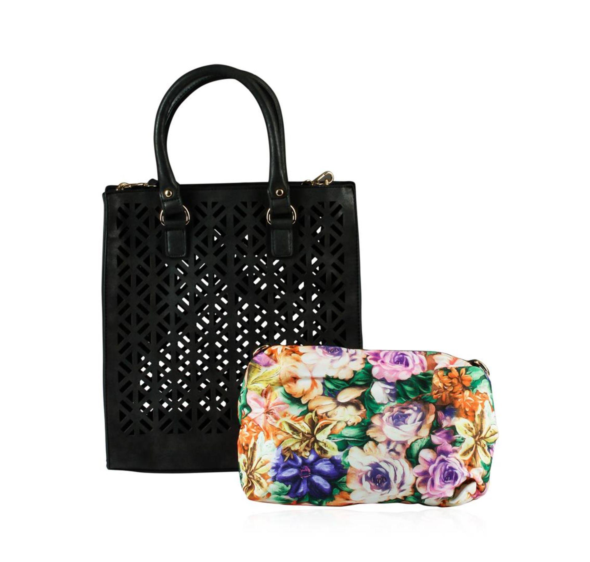 Black Roco Handbag - Image 2 of 2