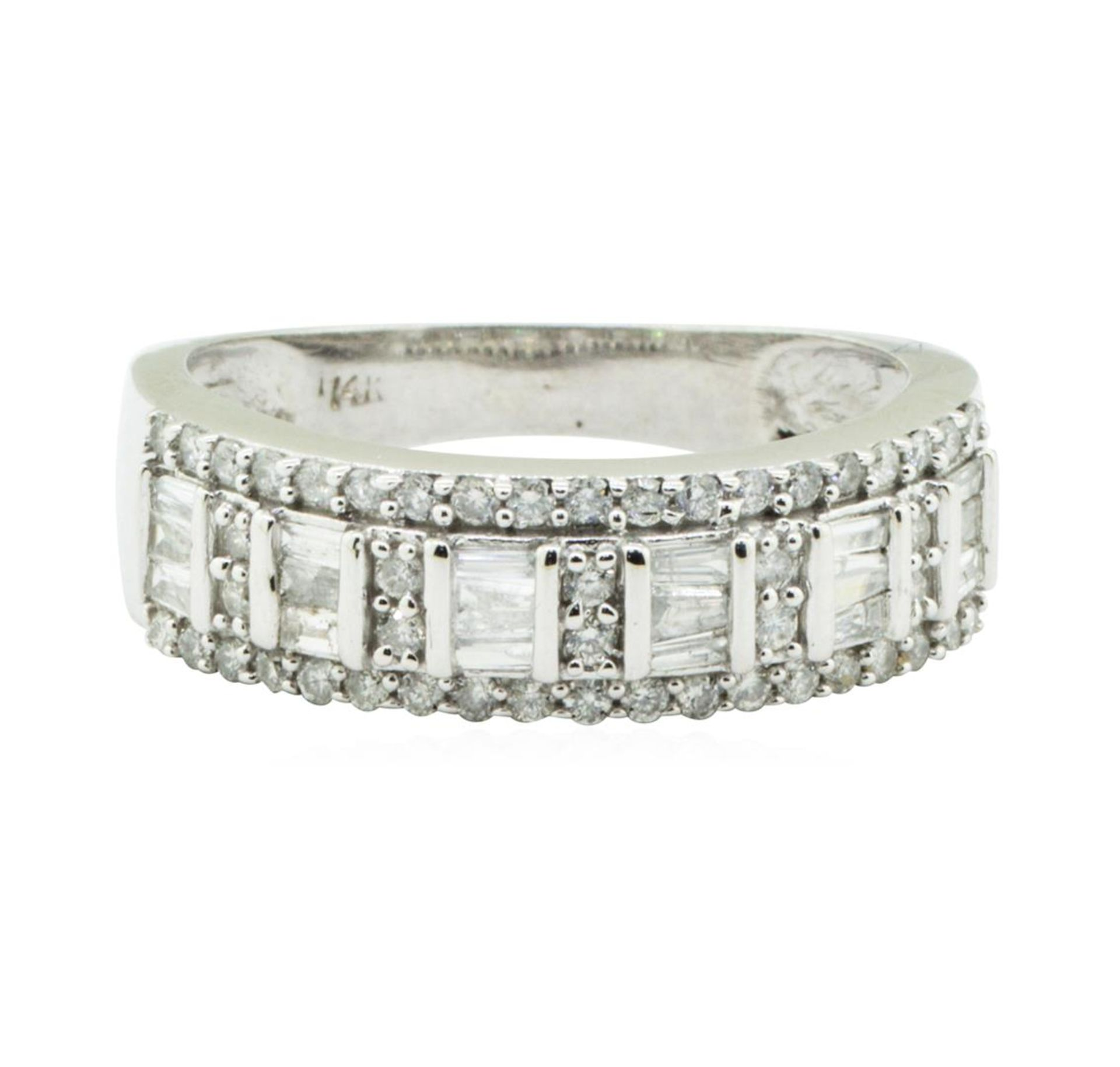 1.00 ctw Diamond Ring - 14KT White Gold - Image 2 of 4